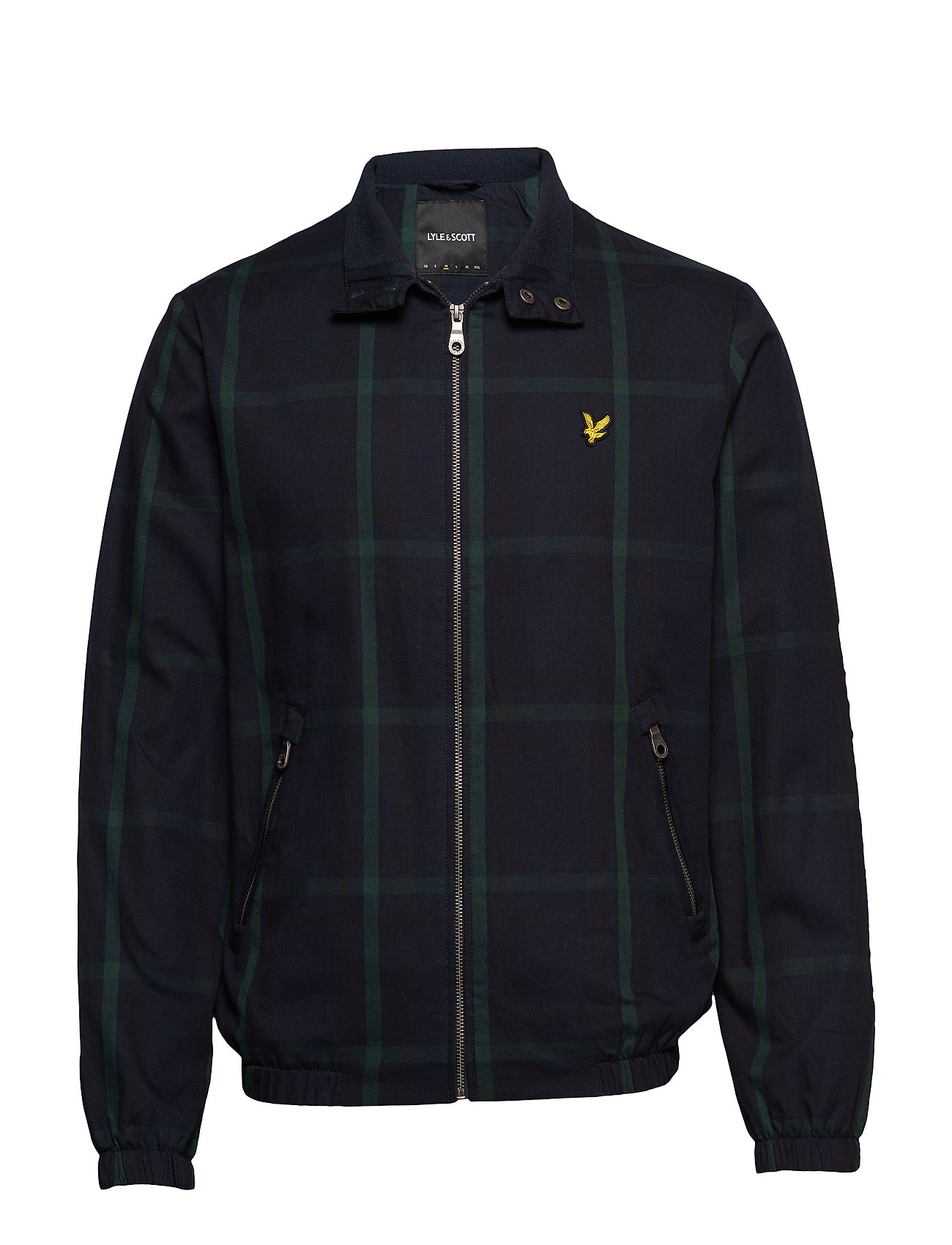 Lyle & Scott Tartan Harrington - NAVY CHECK