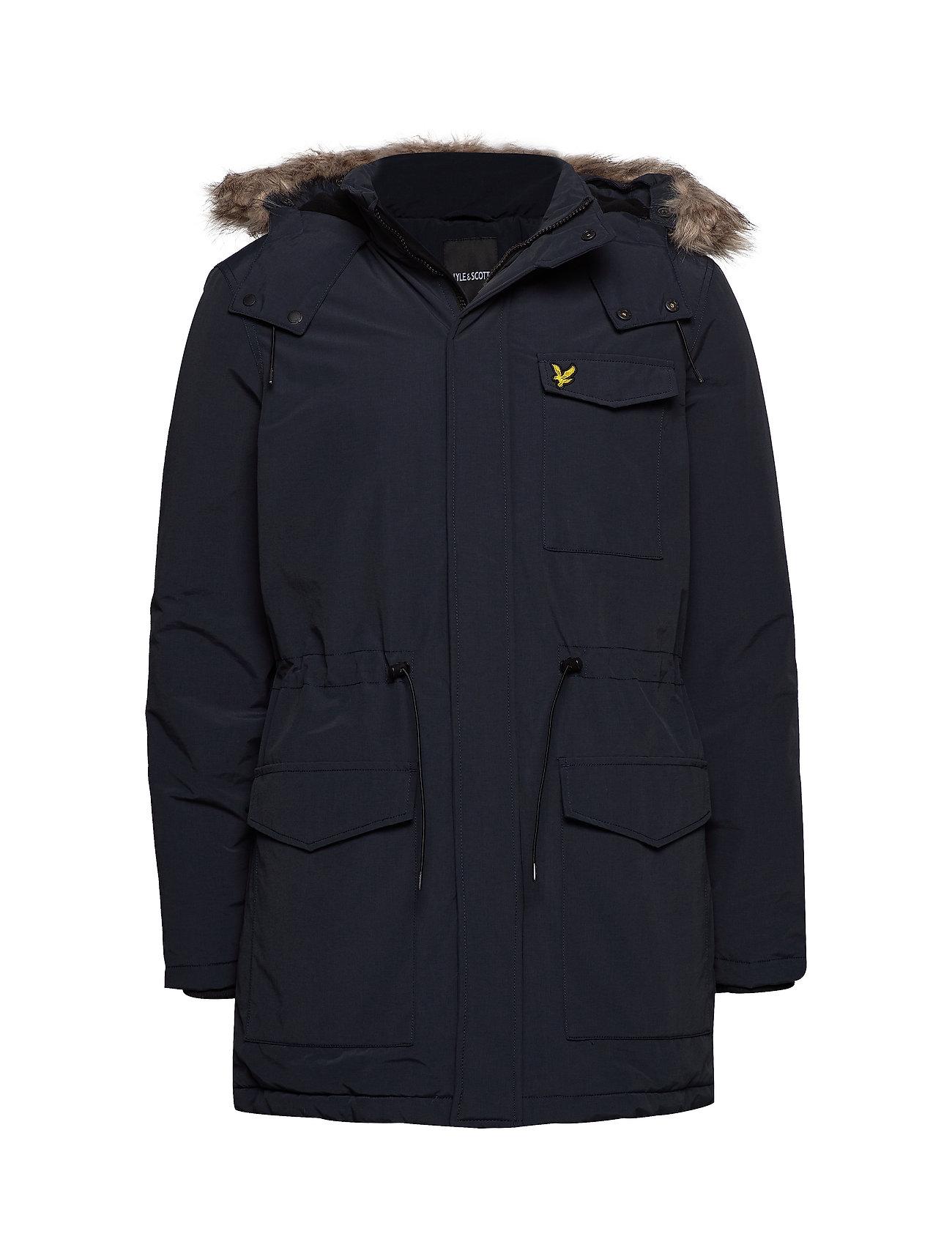 Lyle & Scott Winter Weight Microfleece Jacket - DARK NAVY