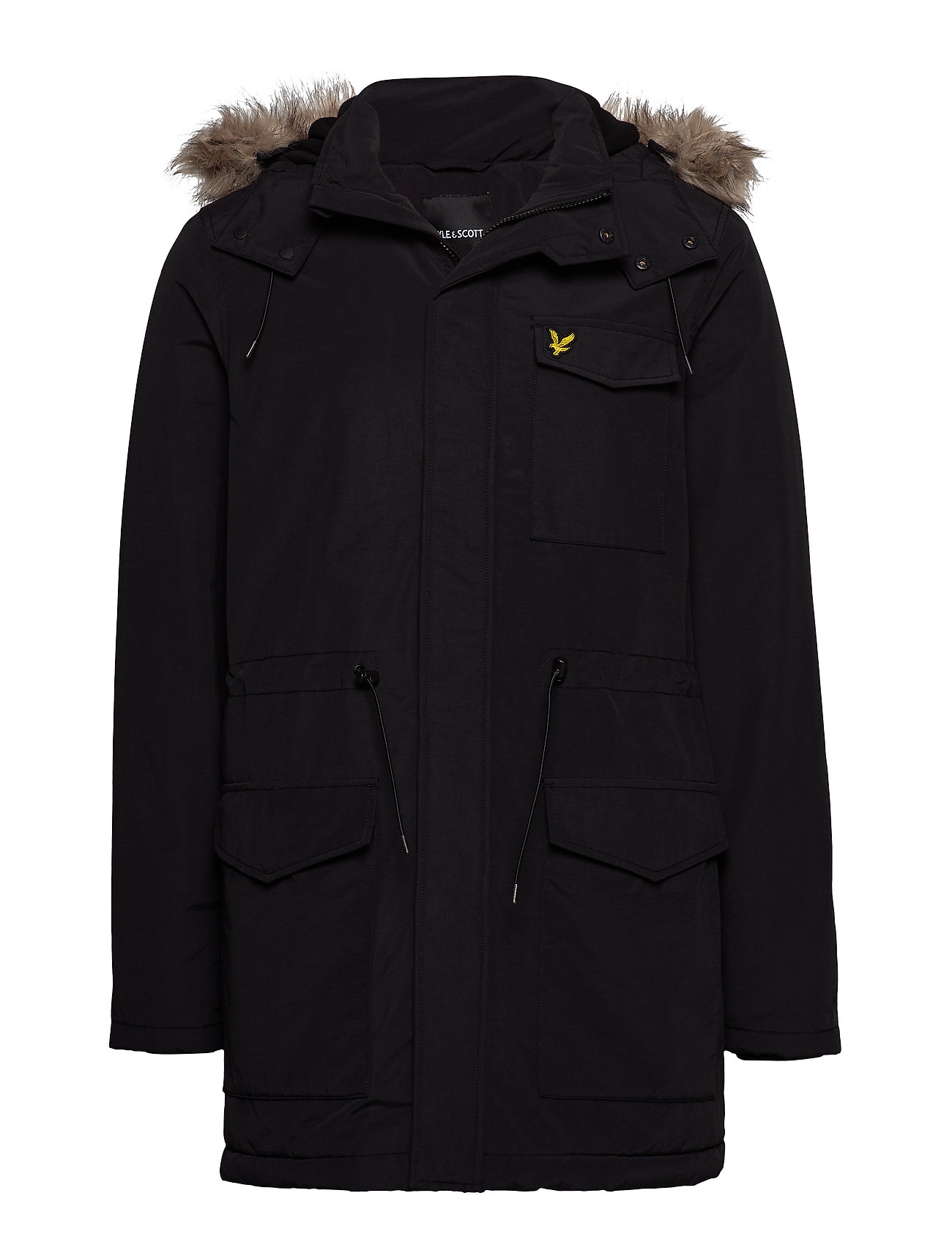 Lyle & Scott Winter Weight Microfleece Jacket - TRUE BLACK