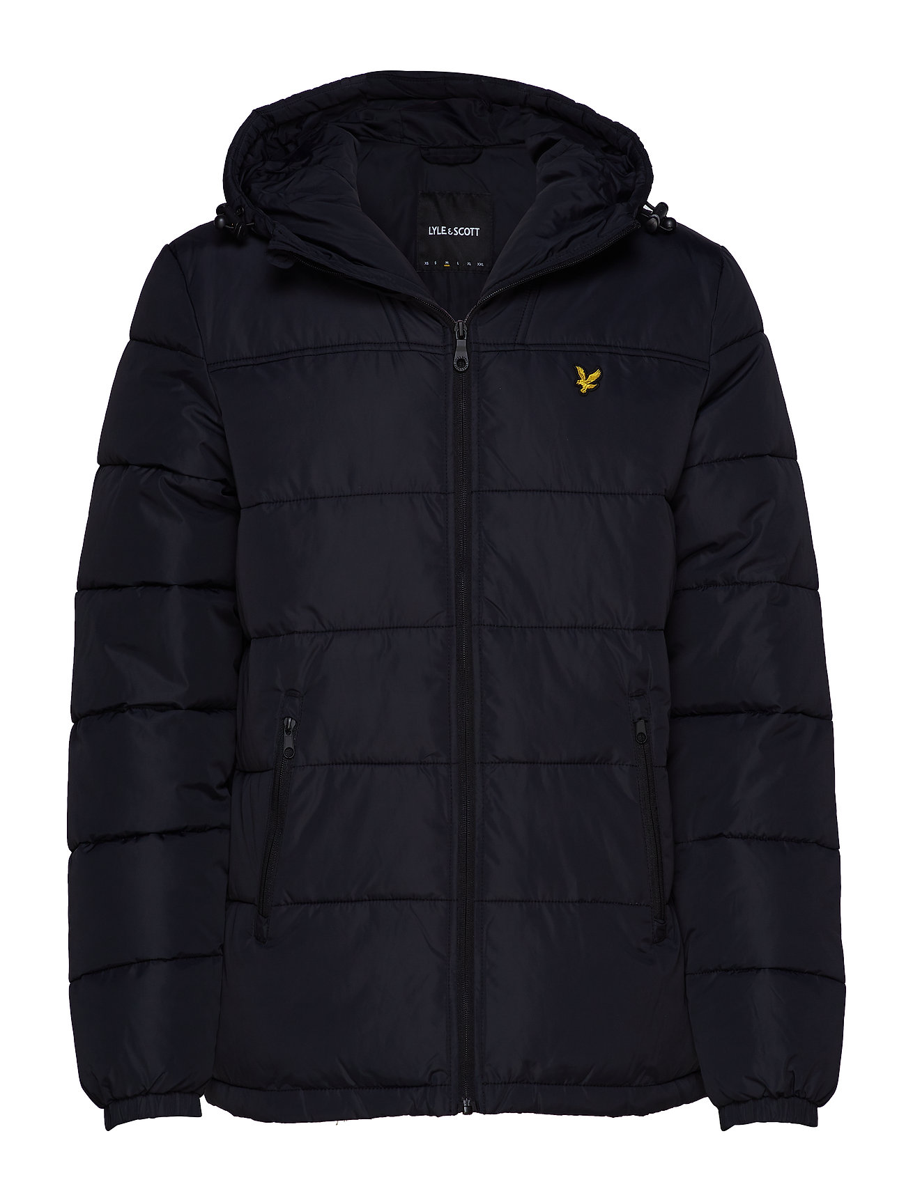Lyle & Scott Wadded Jacket - TRUE BLACK