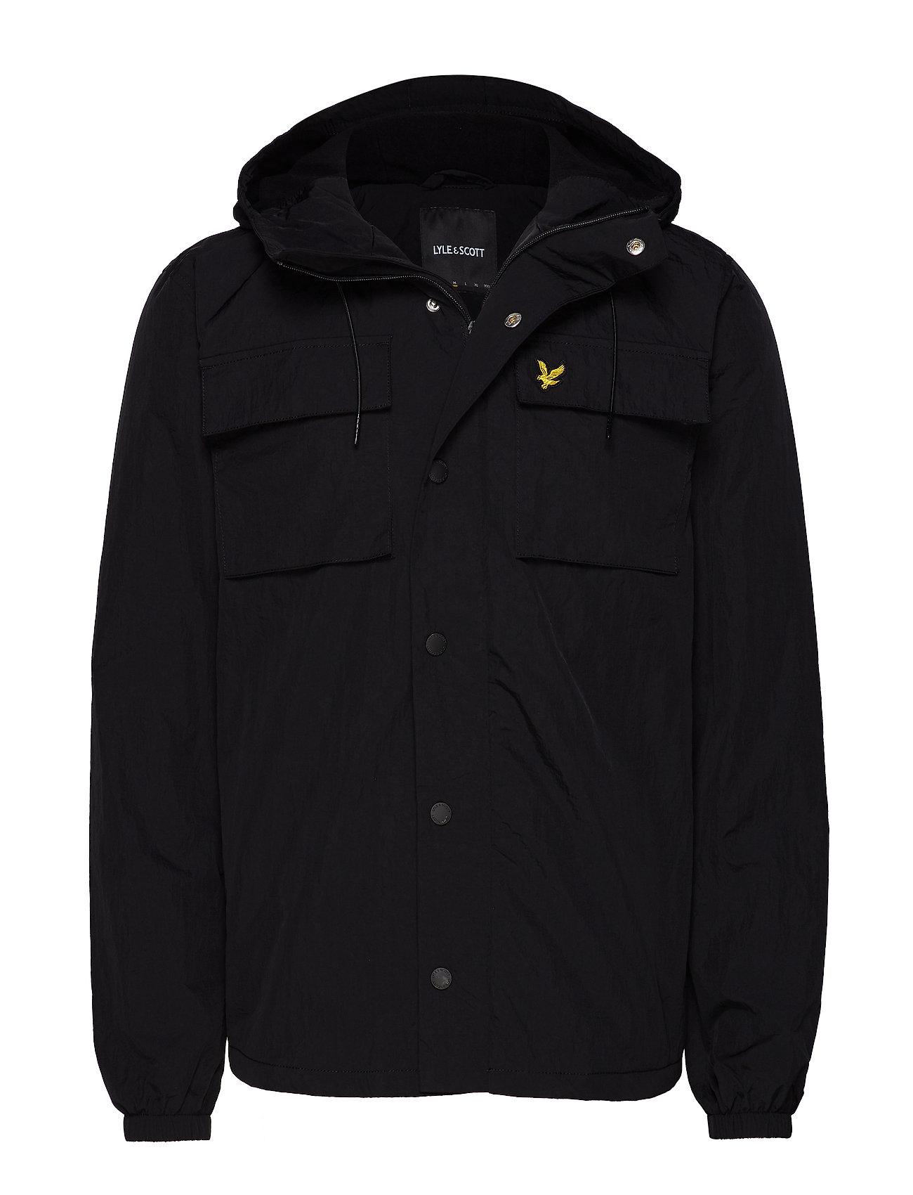 Lyle & Scott Pocket Jacket - TRUE BLACK