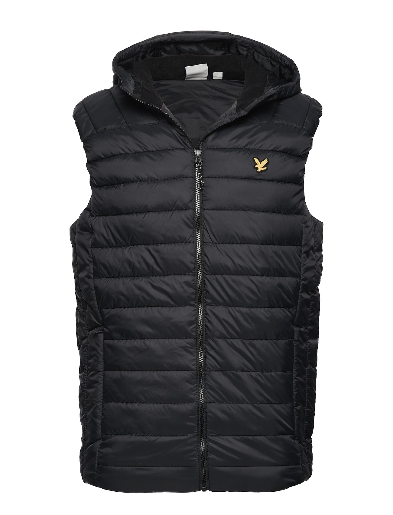 Lyle & Scott Lightweight Quilted Gilet - TRUE BLACK