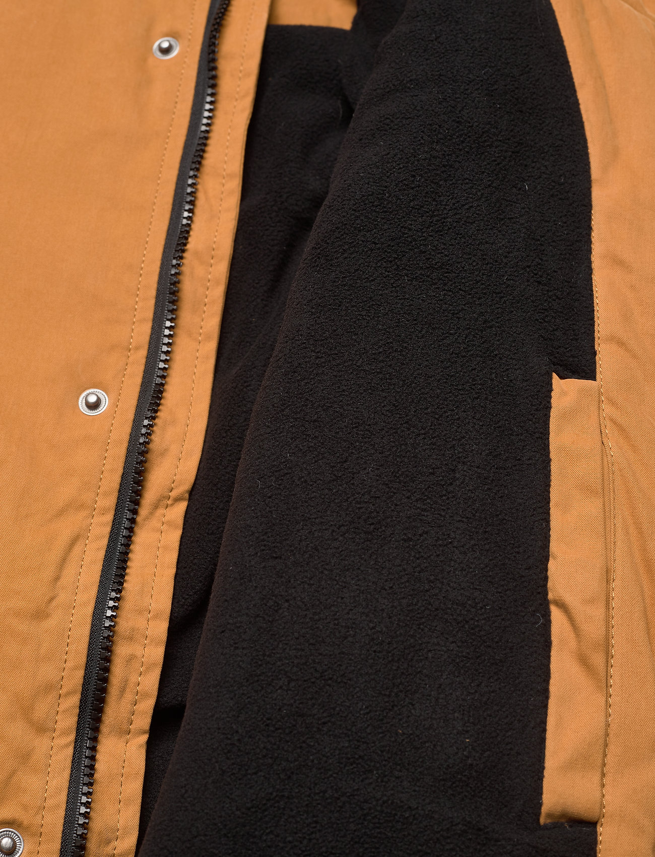 Lyle & Scott Winter Weight Microfleece Lined Parka - Jakker og frakker CARAMEL - Menn Klær