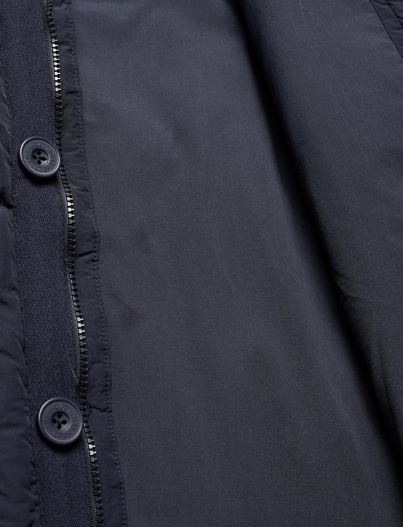 Lyle & Scott - Heavyweight Longline Puffer Jacket - donsjassen - dark navy - 6