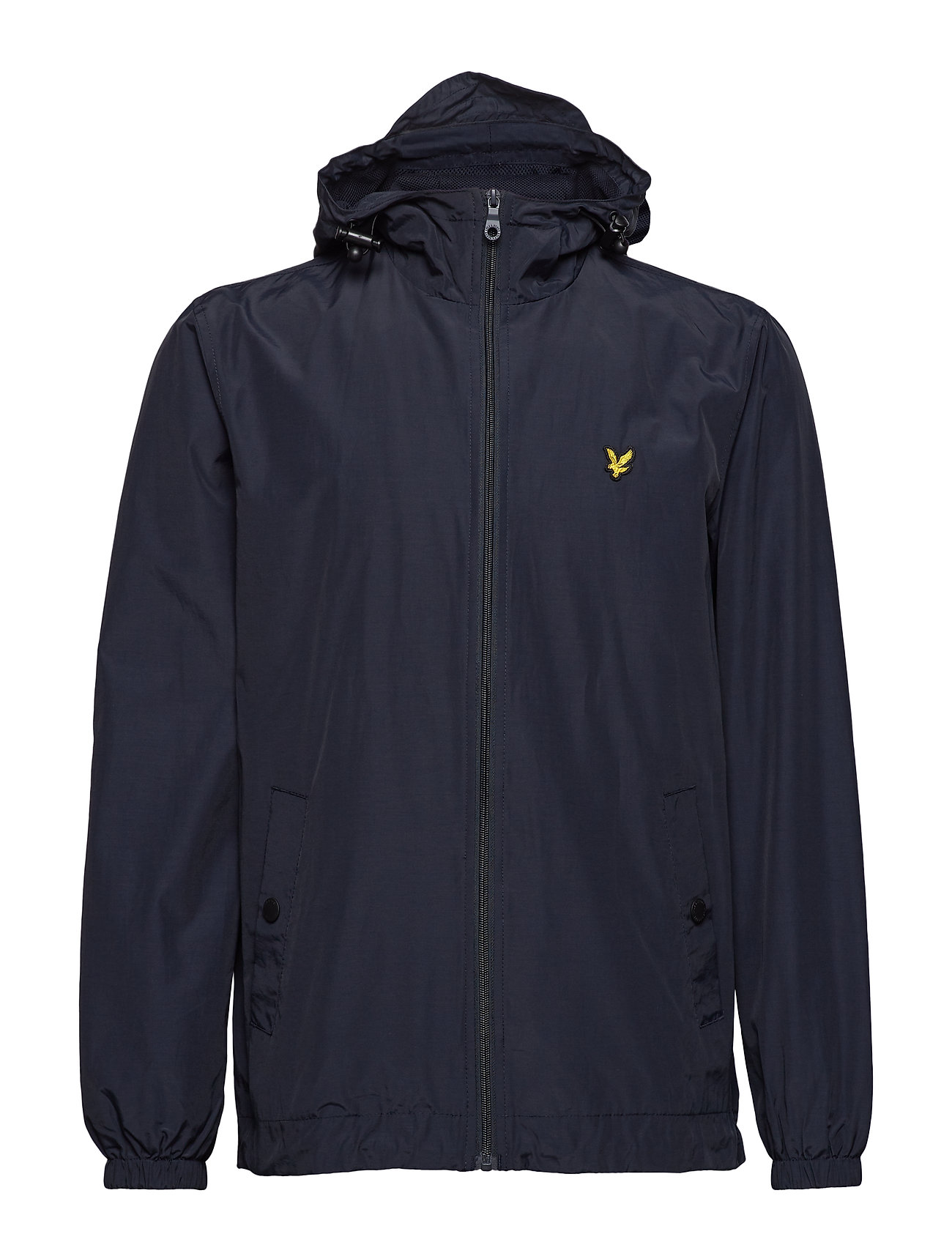 Lyle & Scott Zip Through Hooded Jacket - DARK NAVY
