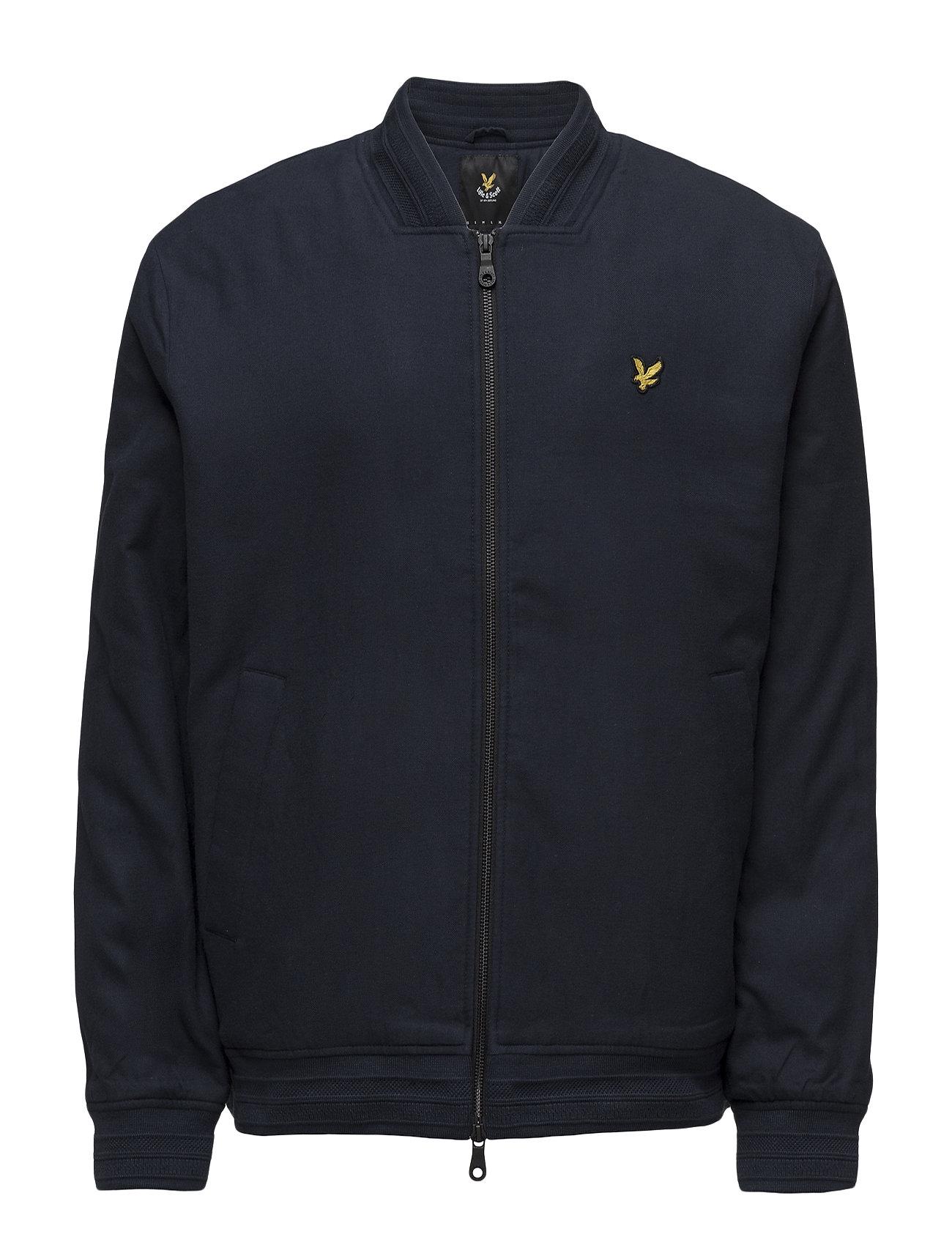 Lyle & Scott Brushed Cotton Bomber Jacket Ytterkläder