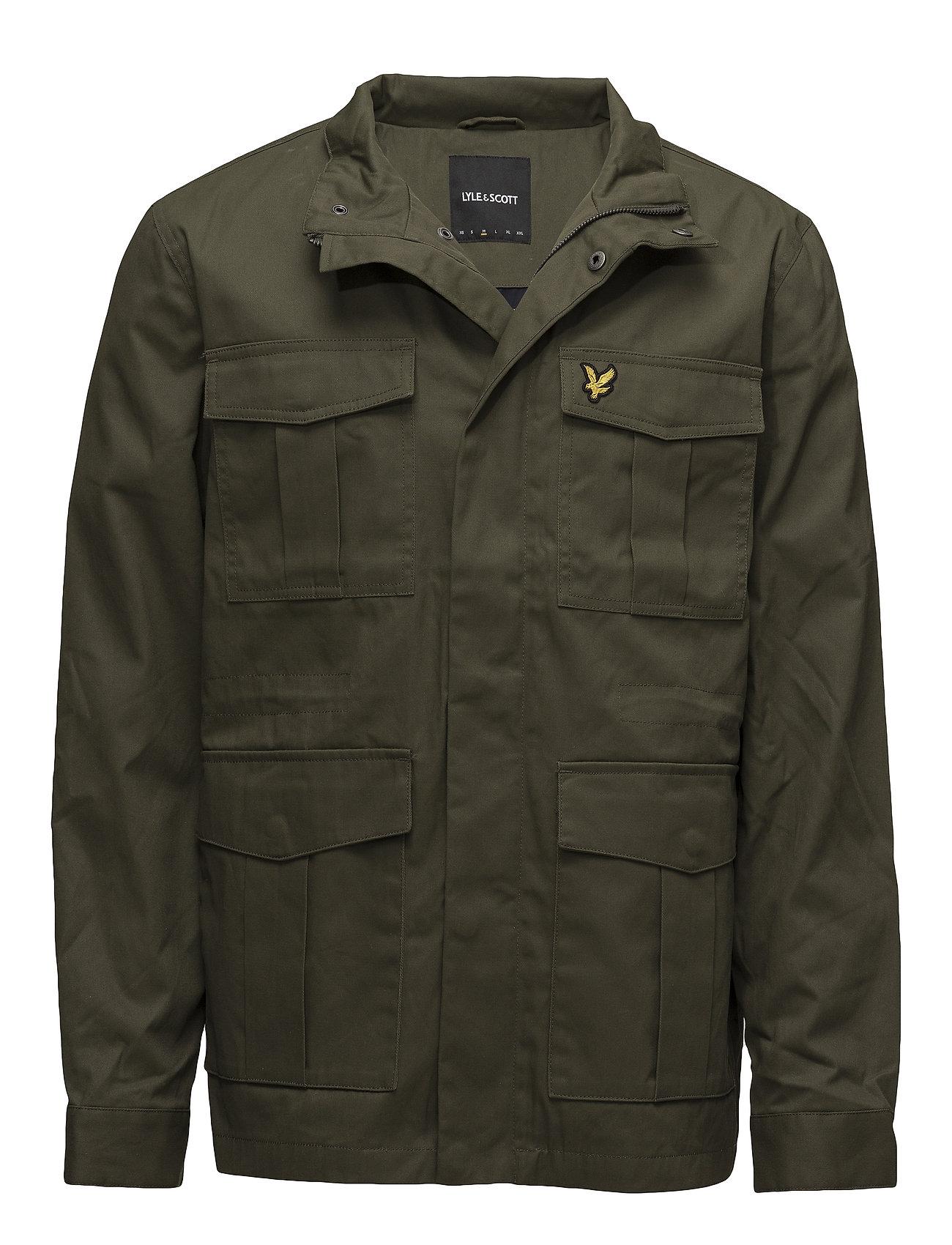Lyle & Scott Field Jacket - OLIVE
