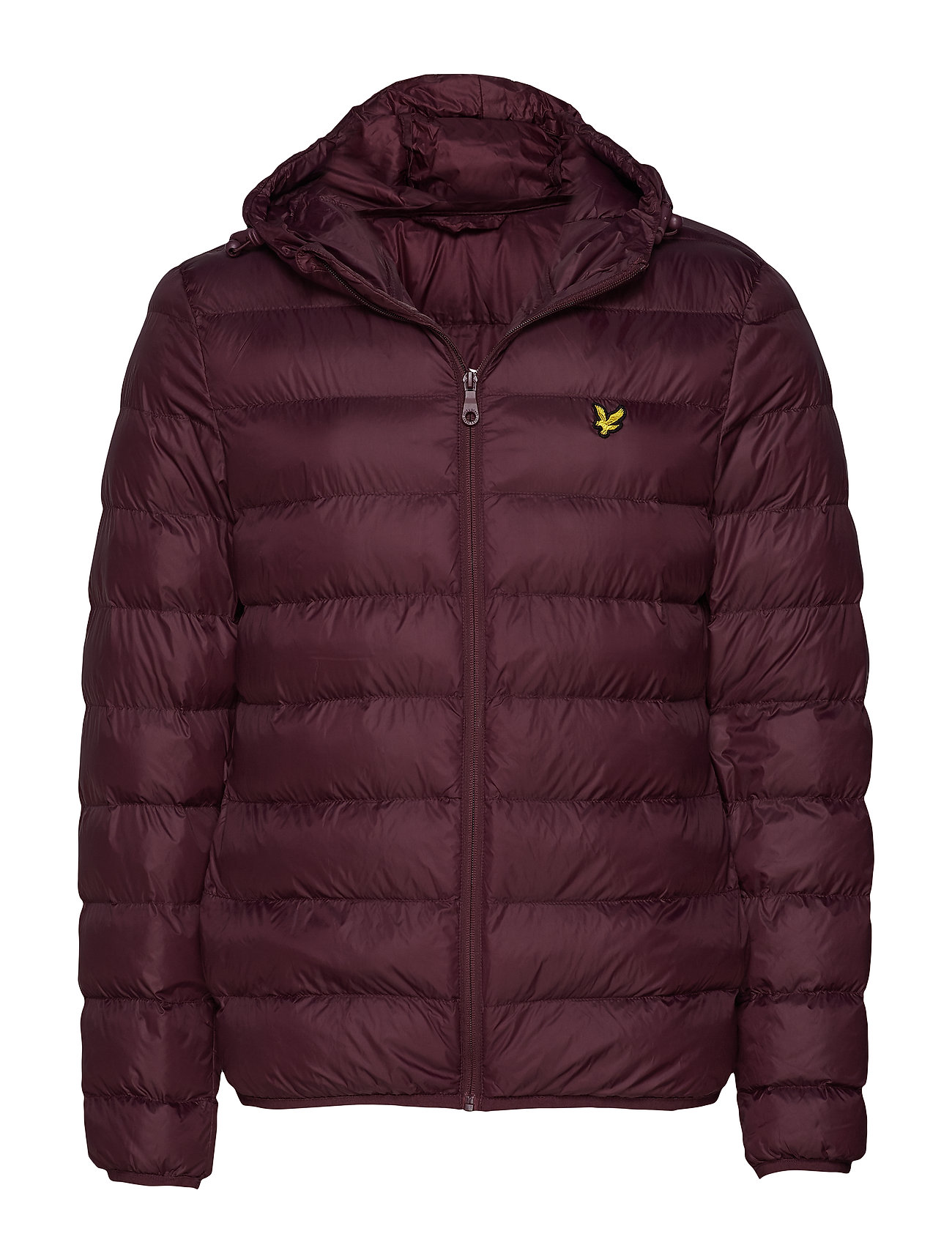 Lyle & Scott Lightweight Puffer Jacket - BURGUNDY