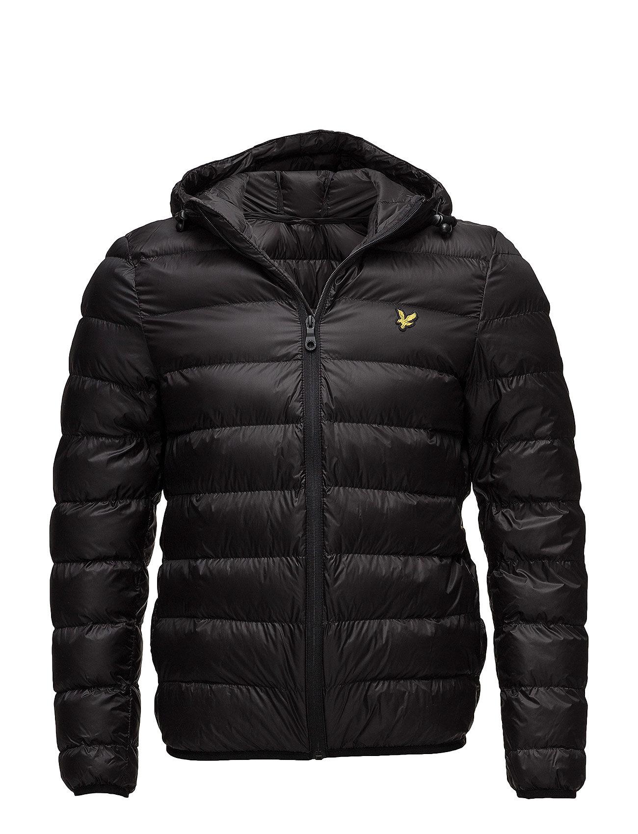 Lyle & Scott Lightweight Puffer Jacket - TRUE BLACK