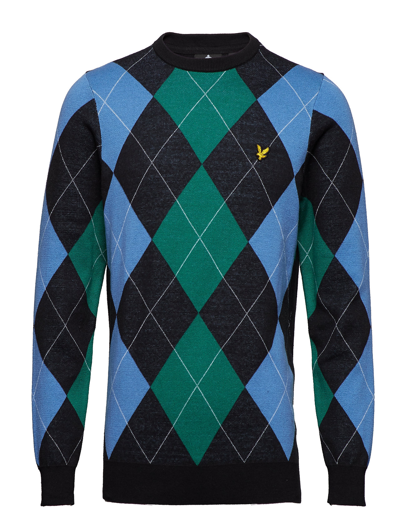 Lyle & Scott Argyle Jumper - TRUE BLACK