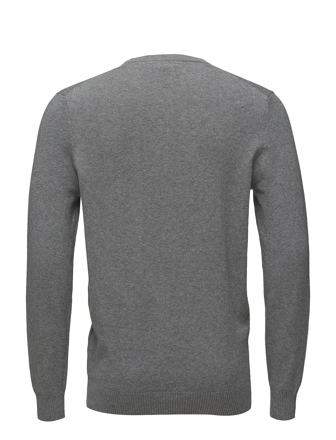 V Cotton Grey Scott Neck Merino MarlLyleamp; Jumpermid sdrxthCQ
