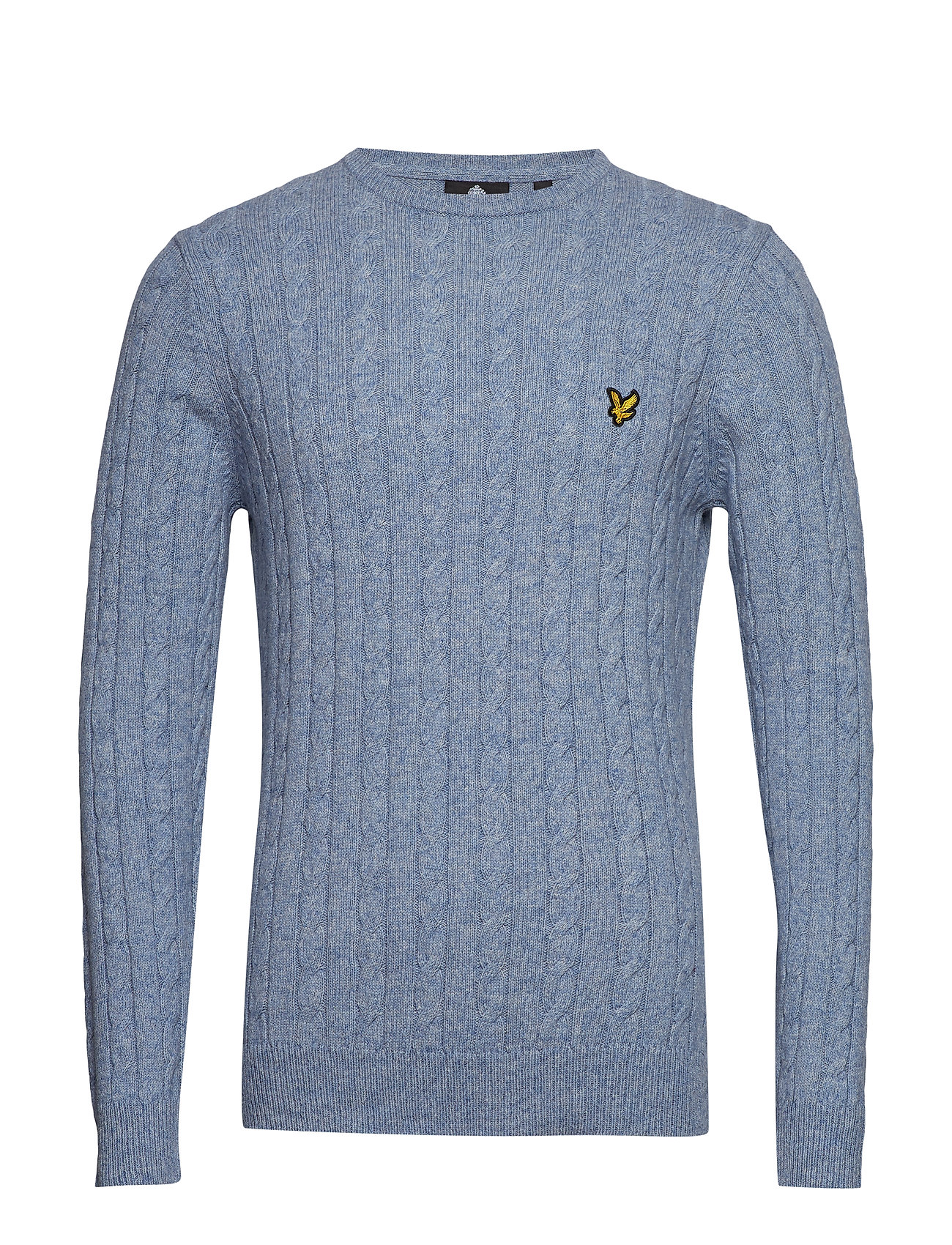 Lyle & Scott Cable Jumper - STONE BLUE MARL