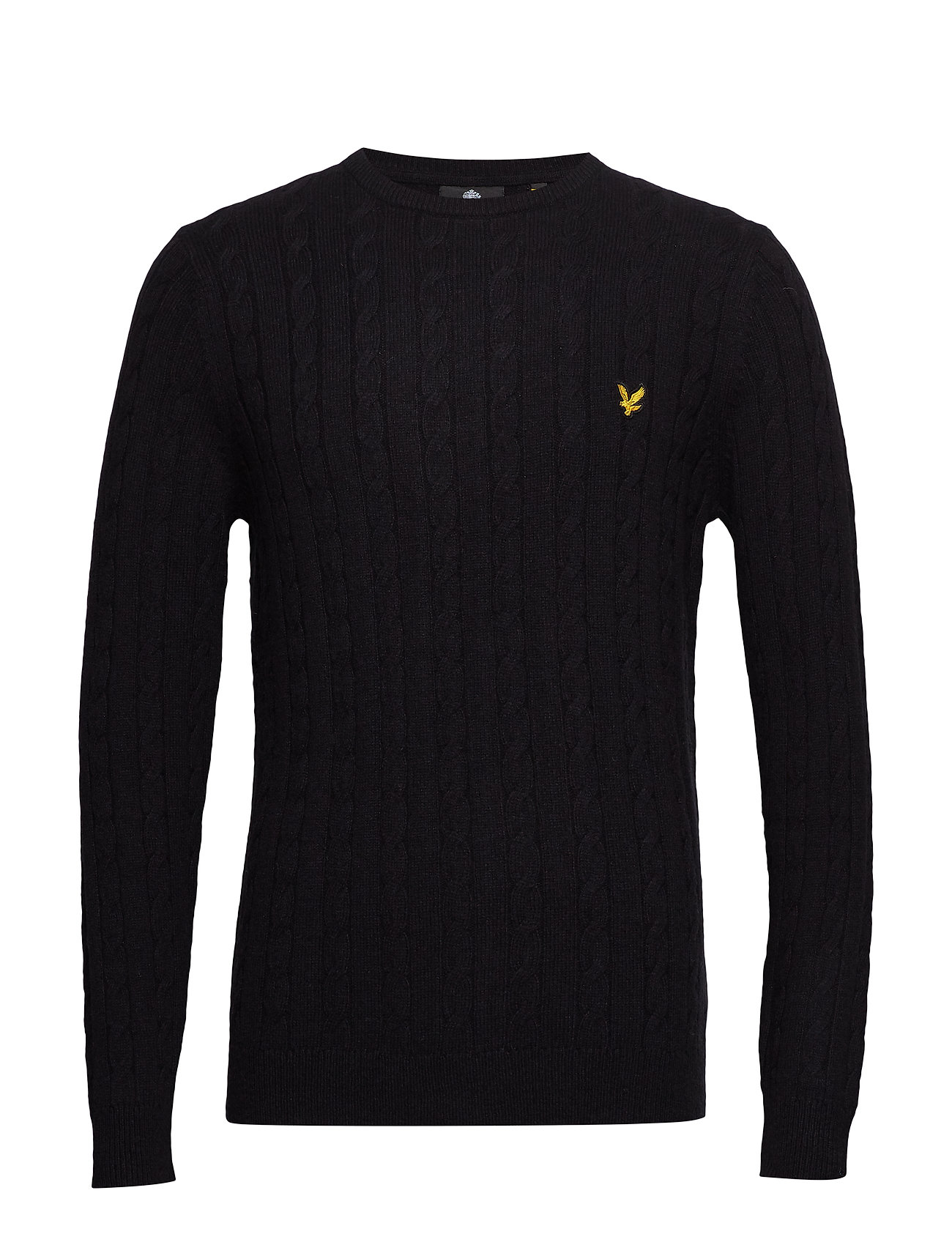 Lyle & Scott Cable Jumper - TRUE BLACK