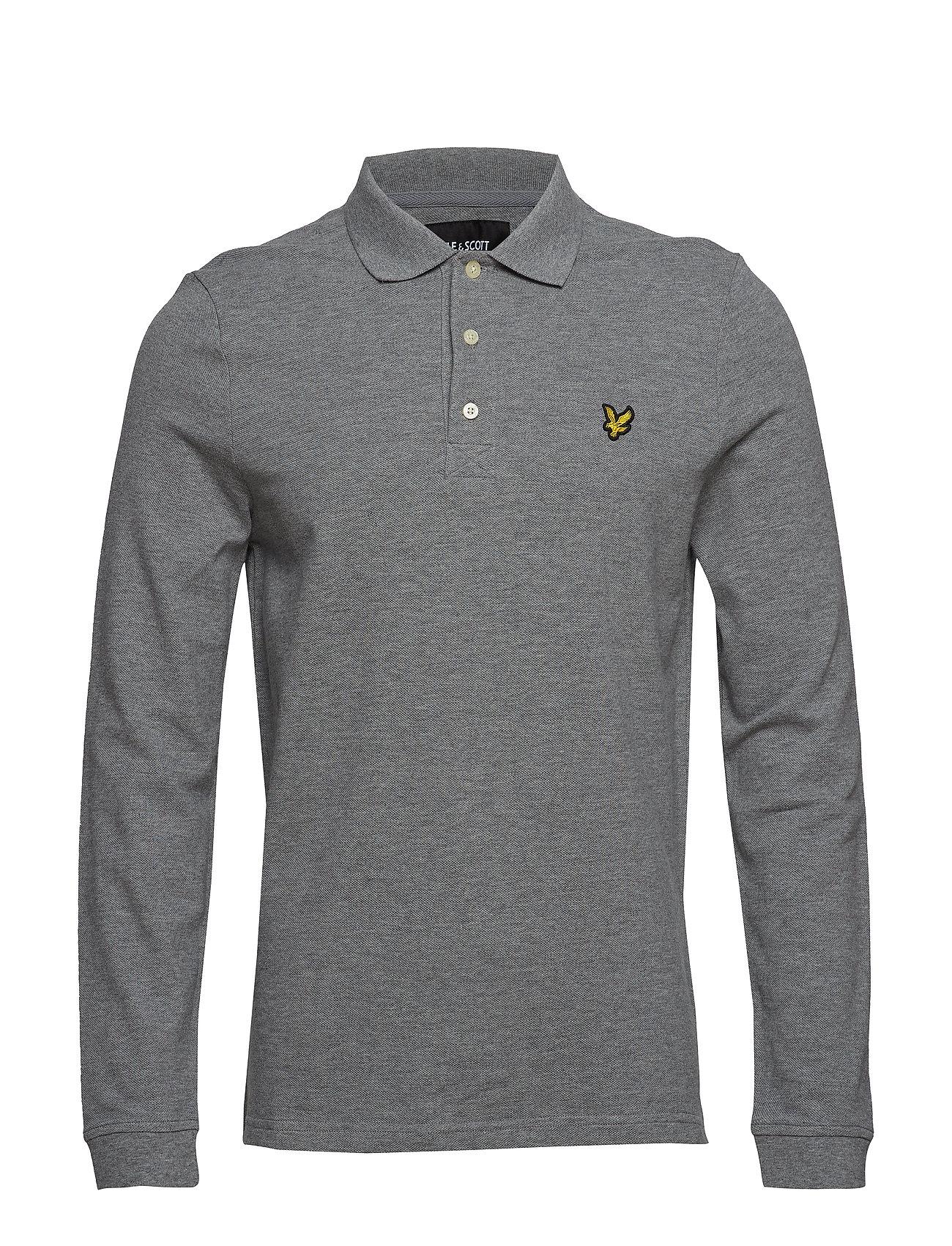 Lyle & Scott LS Polo Shirt - MID GREY MARL
