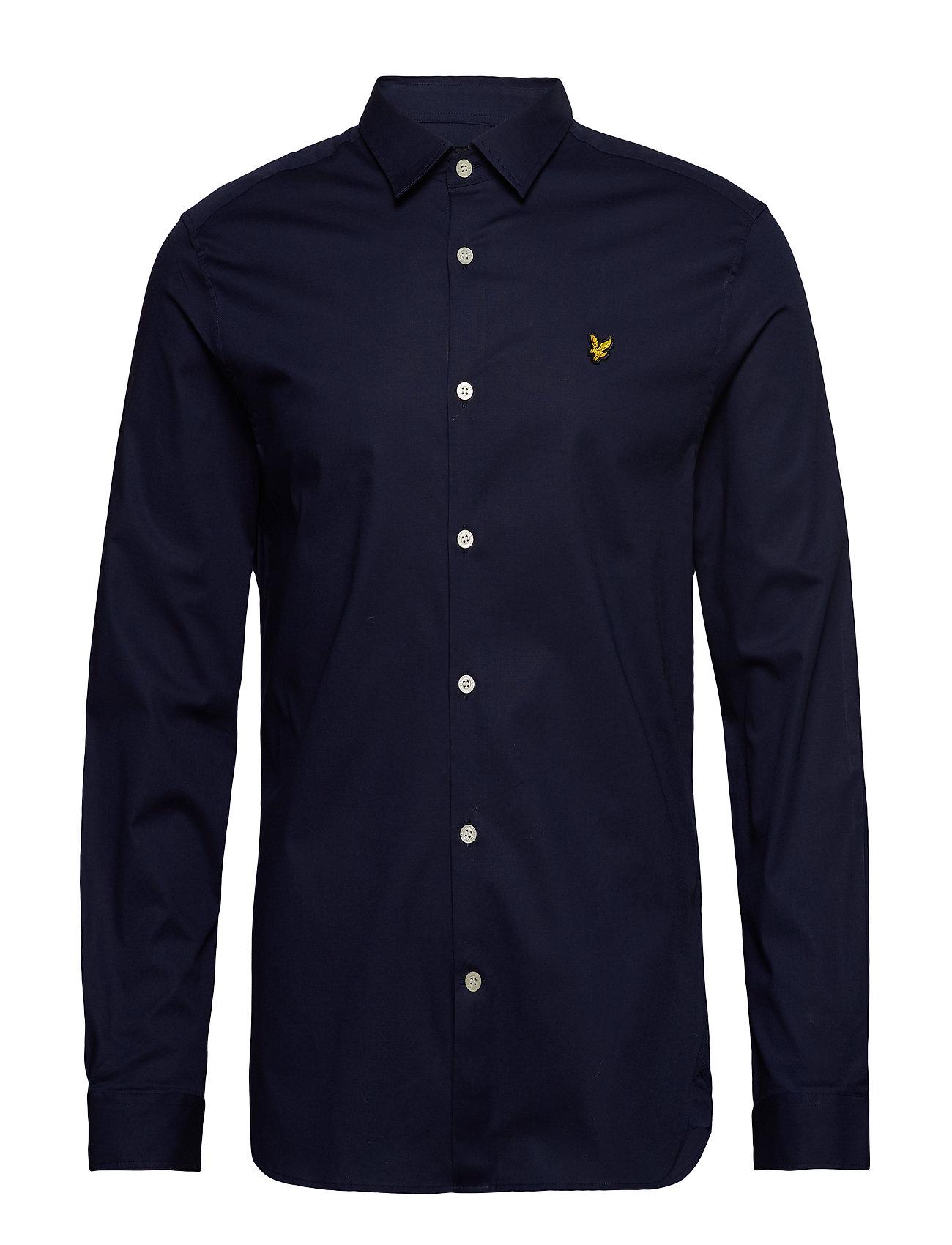 Lyle & Scott LS Slim Fit Poplin Shirt - NAVY