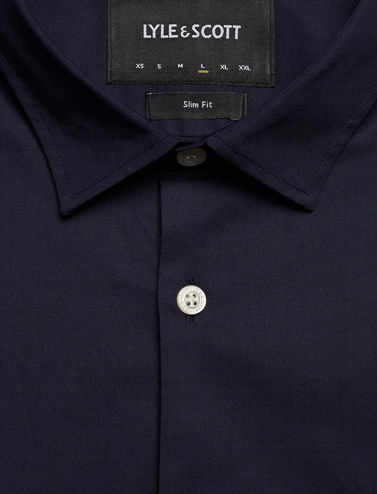 Lyle & Scott Ls Slim Fit Poplin Shirt - Skjortor Navy