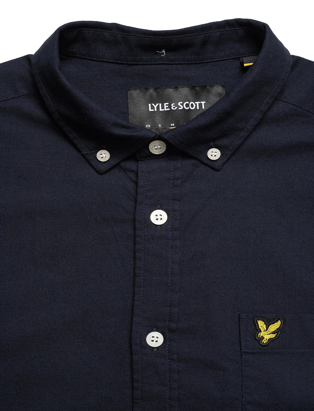 Lyle & Scott Regular Fit Light Weight Oxford Shirt - Skjorter DARK NAVY - Menn Klær