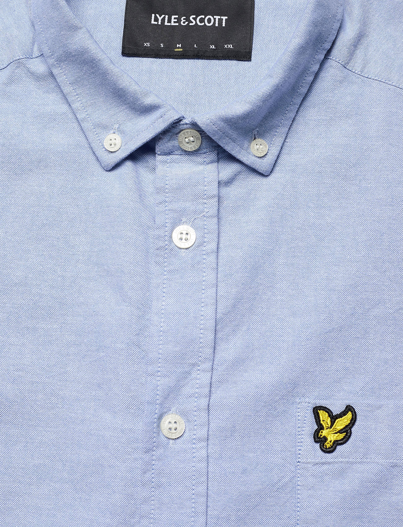 Lyle & Scott Regular Fit Light Weight Oxford Shirt - Skjorter RIVIERA - Menn Klær
