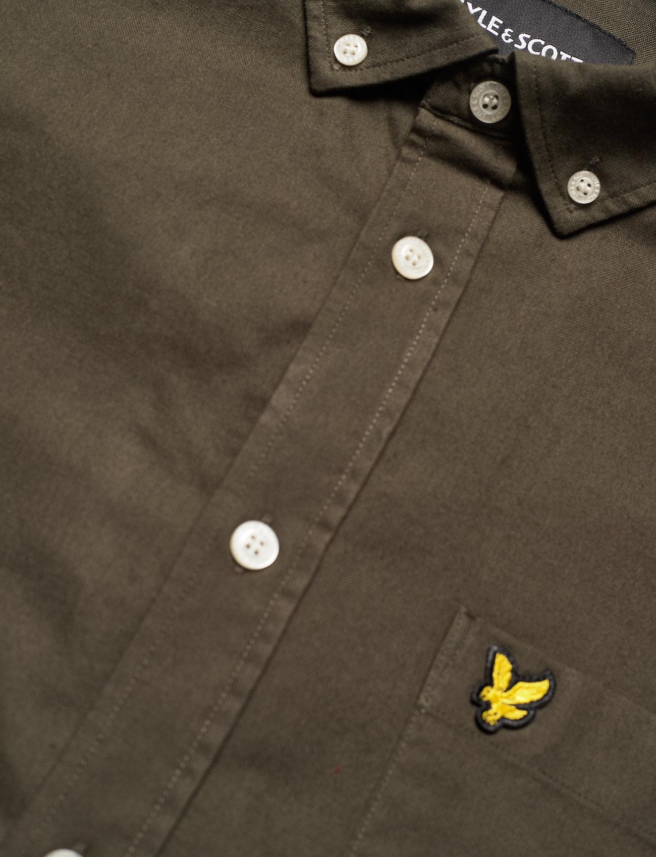 Lyle & Scott Regular Fit Light Weight Oxford Shirt - Skjorter TREK GREEN - Menn Klær