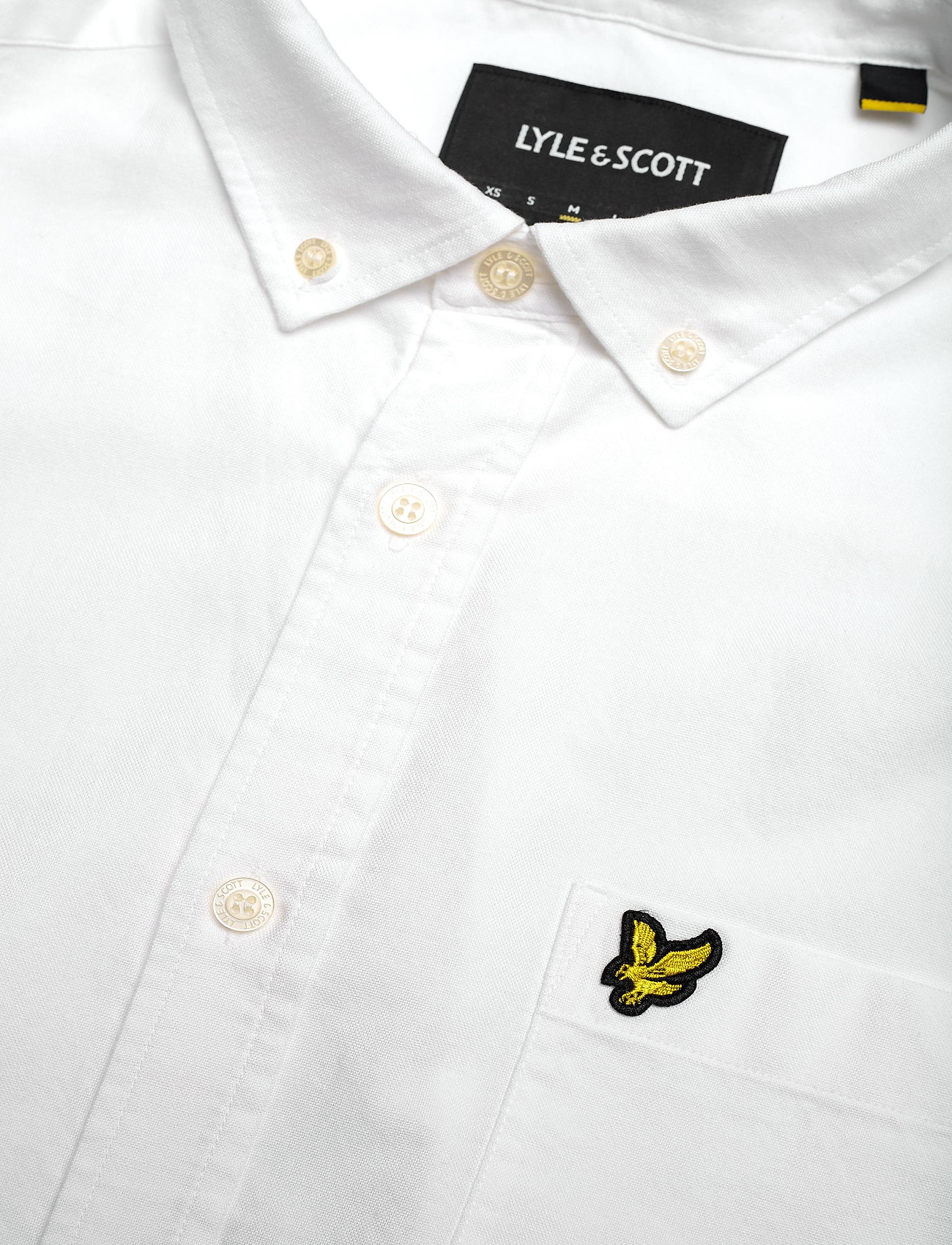 Lyle & Scott Regular Fit Light Weight Oxford Shirt - Skjorter WHITE - Menn Klær