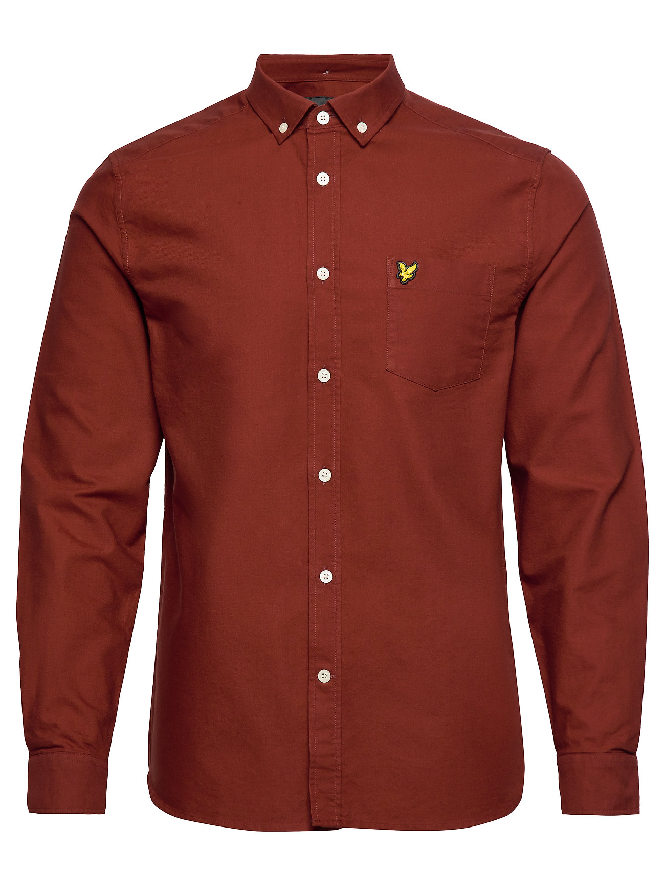 Lyle & Scott Oxford Shirt - BRICK RED