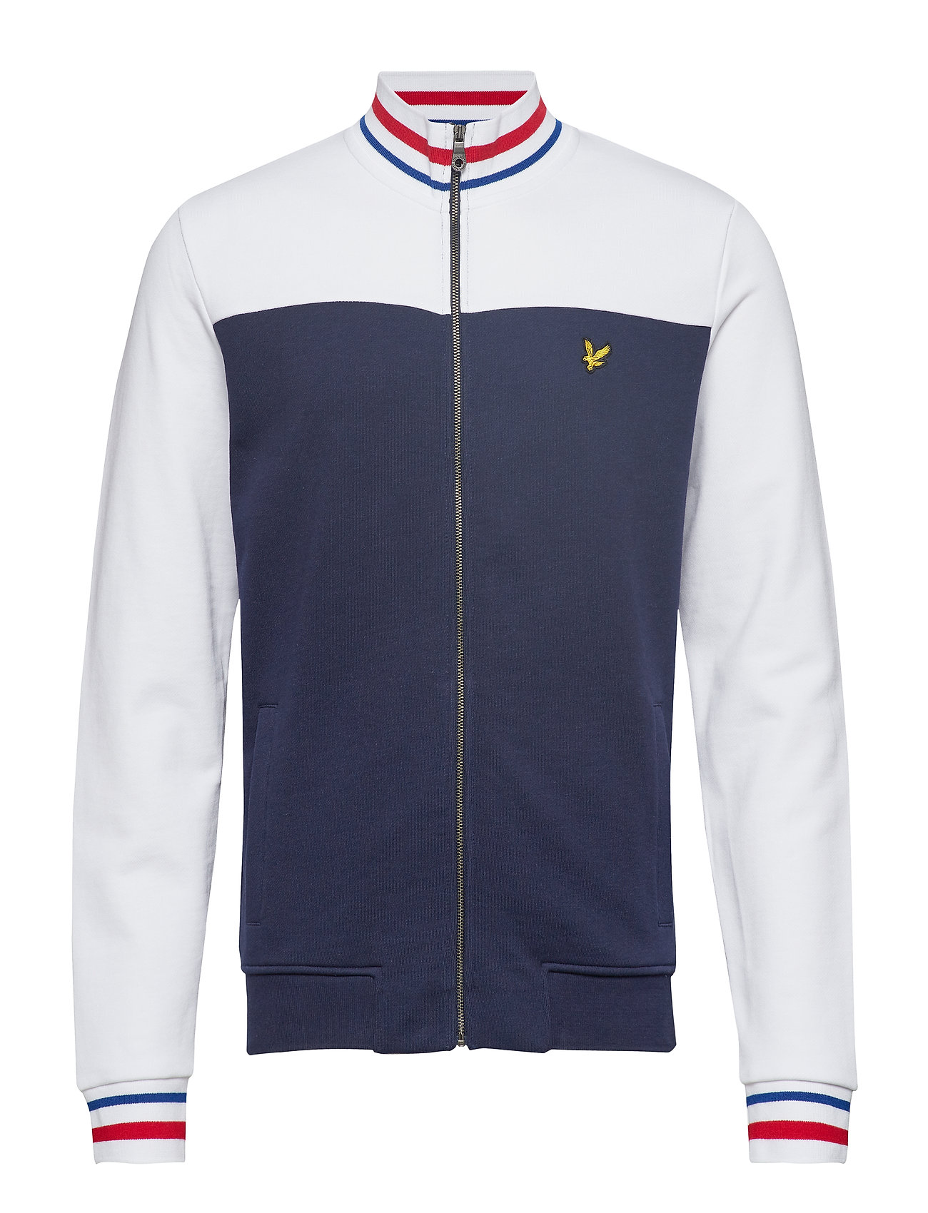 Lyle & Scott Tipped Funnel Neck - NAVY