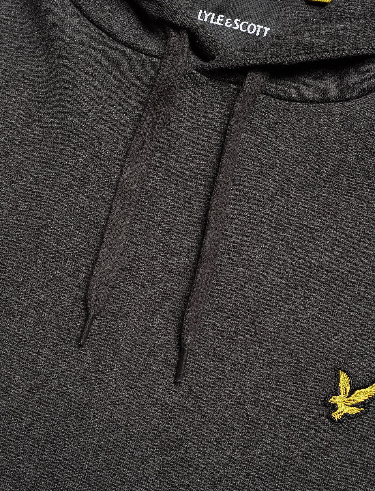 Lyle & Scott Pullover Hoodie - Sweatshirts CHARCOAL MARL - Menn Klær