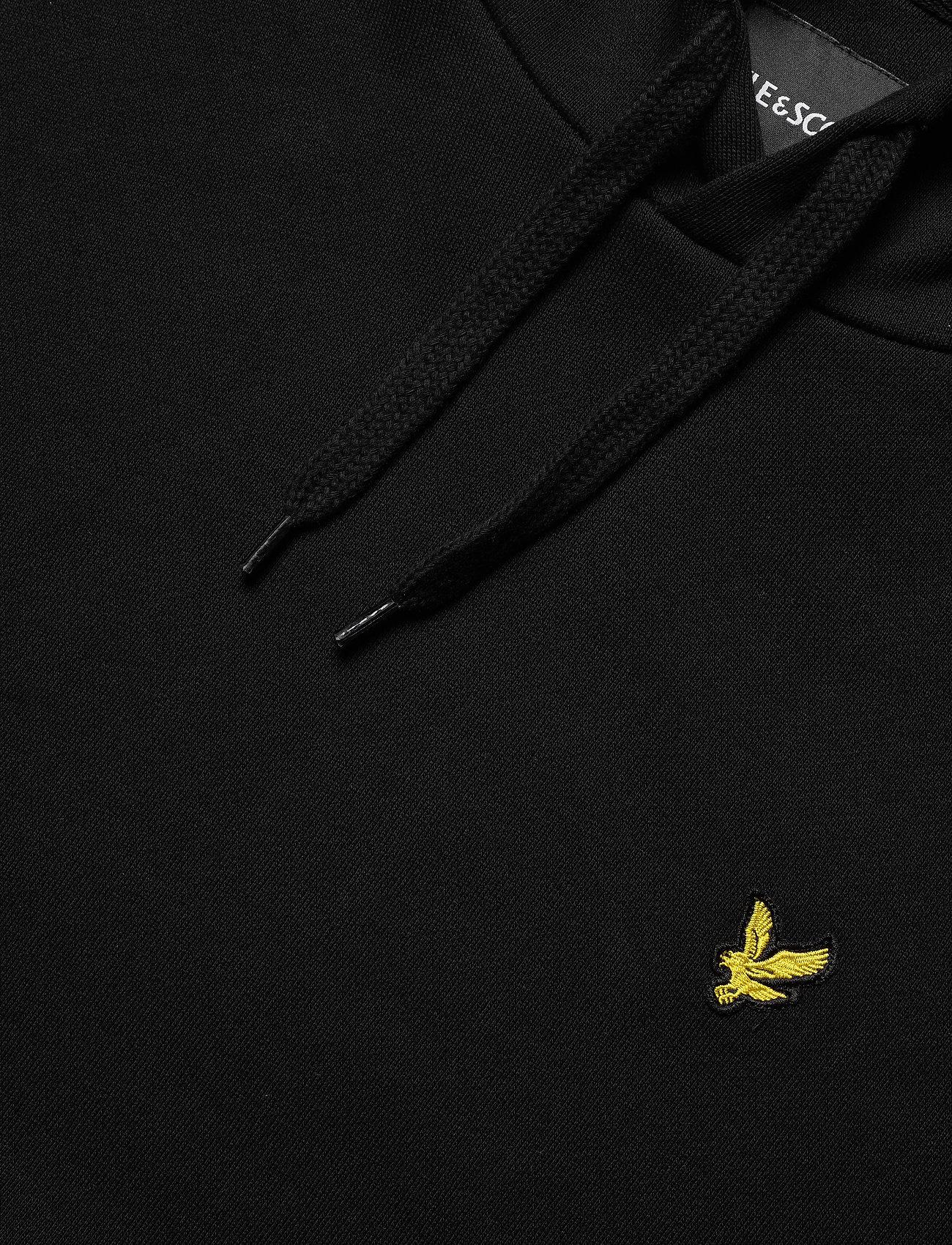 Lyle & Scott Pullover Hoodie - Sweatshirts JET BLACK - Menn Klær