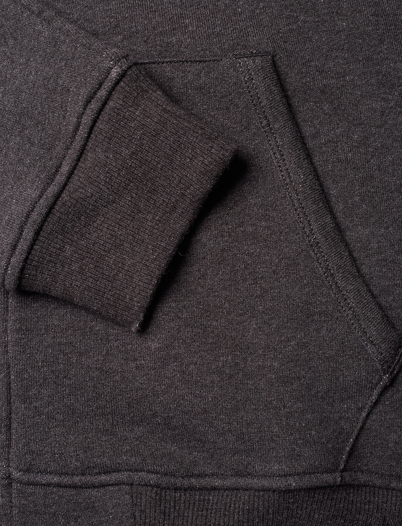 Lyle & Scott Zip Through Hoodie - Sweatshirts CHARCOAL MARL - Menn Klær