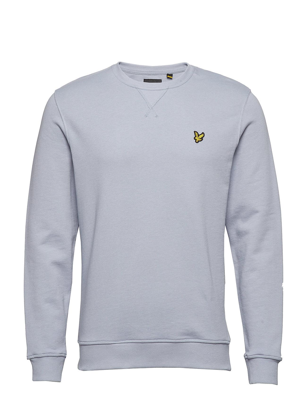 Lyle & Scott Crew Neck Sweatshirt - CLOUD BLUE