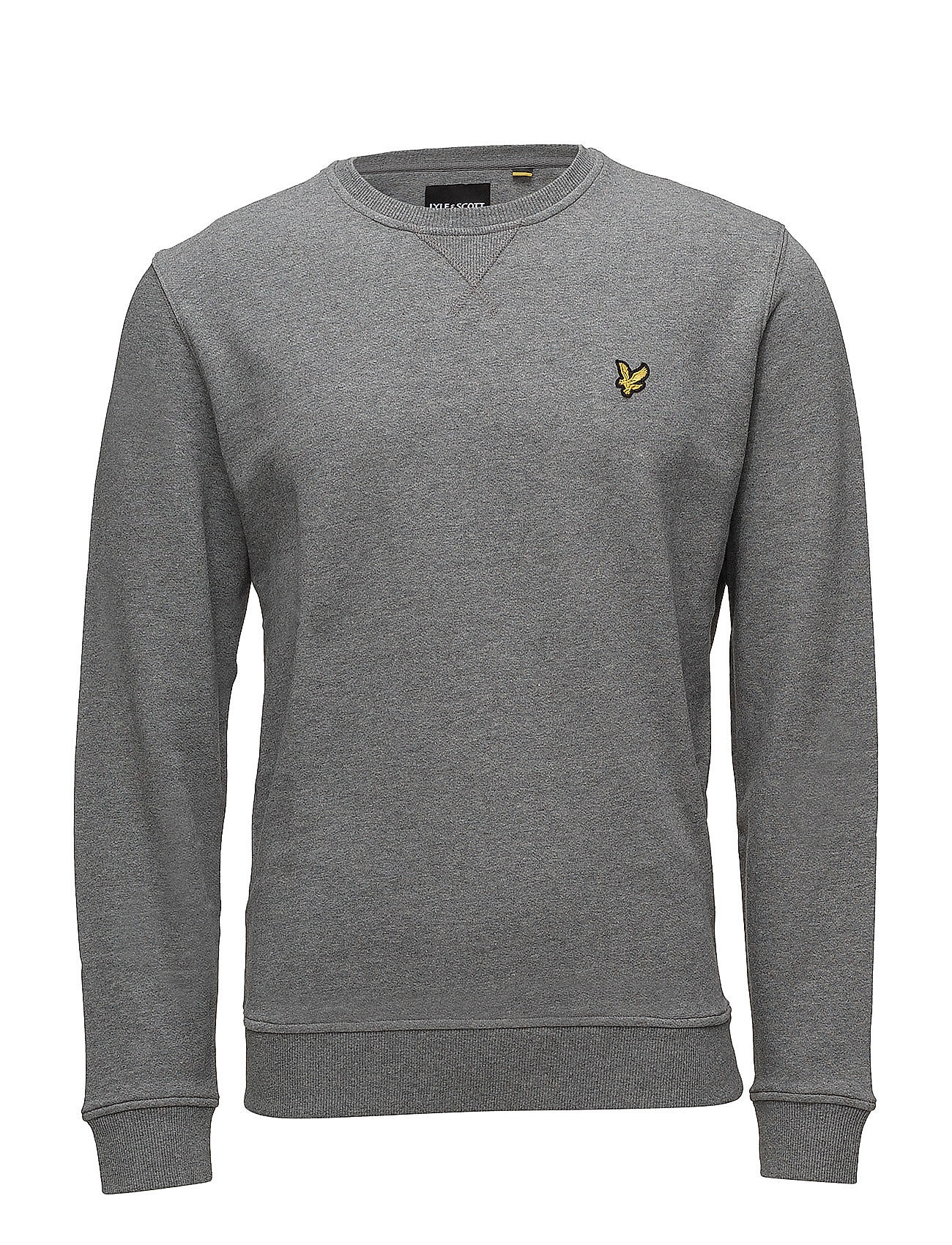 Lyle & Scott Crew Neck Sweatshirt - MID GREY MARL
