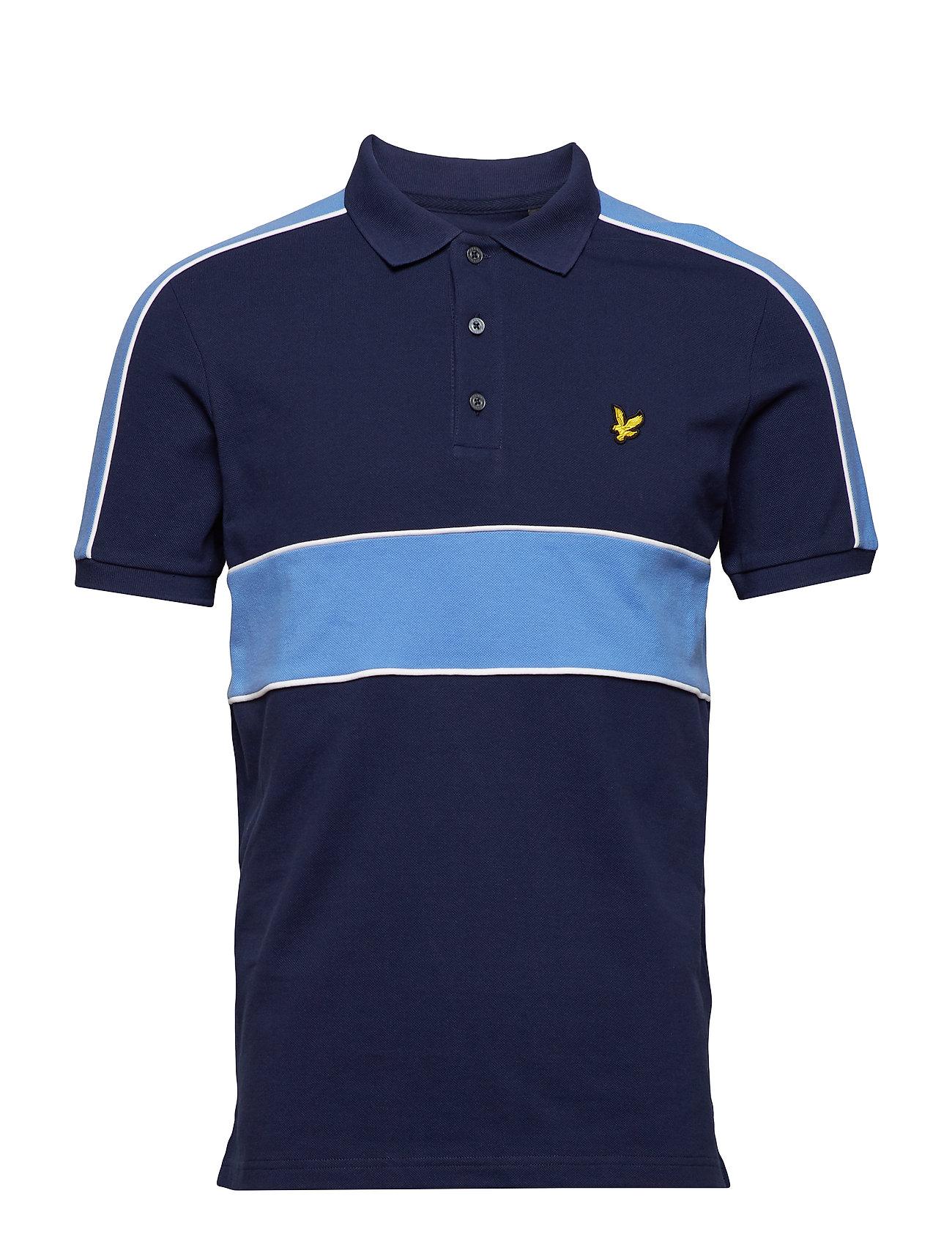 Lyle & Scott Cut and Sew Polo Shirt Ögrönlar