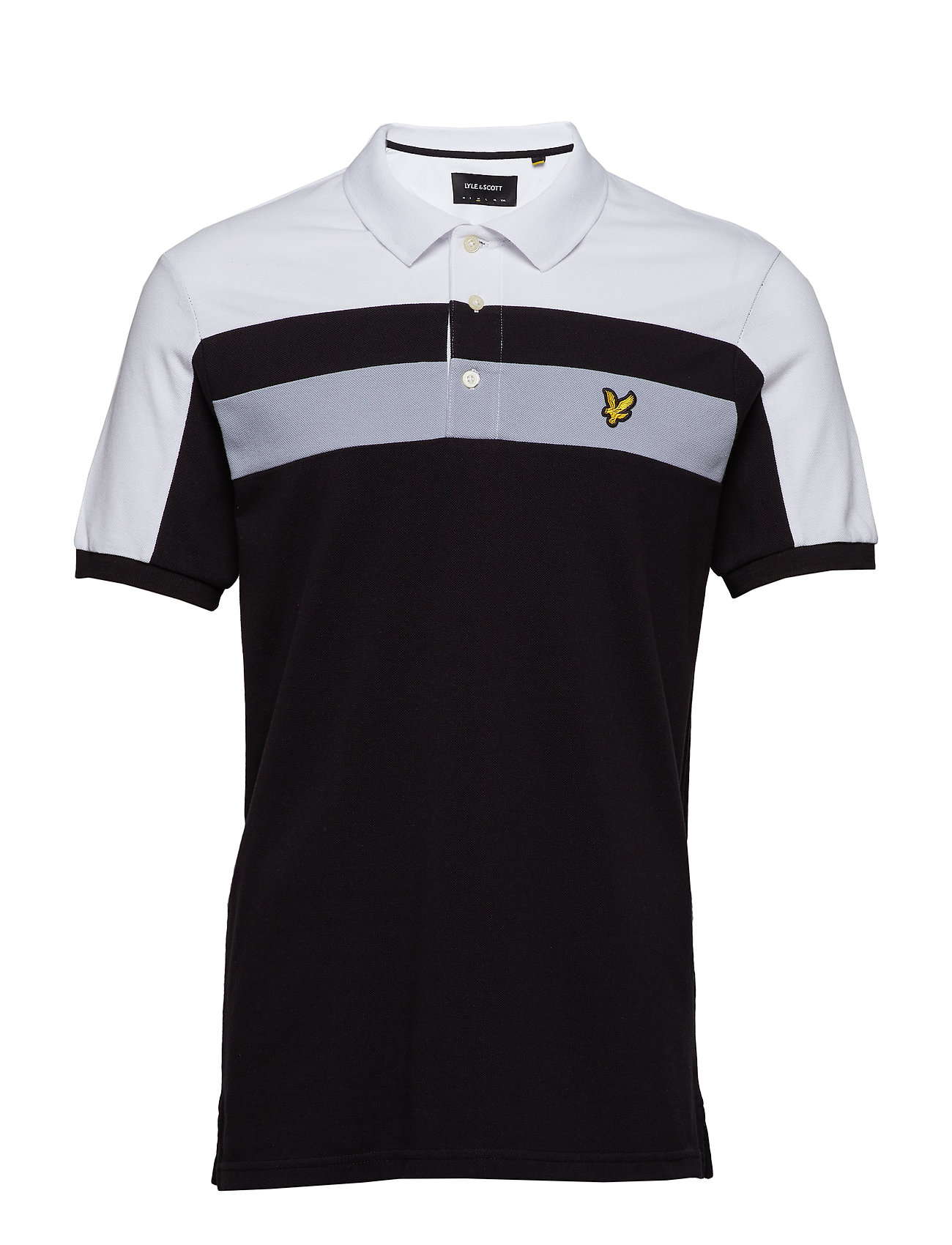 Lyle & Scott Colour Block Polo Shirt Ögrönlar