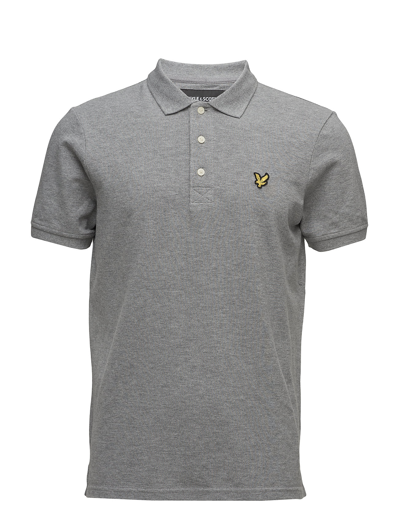 Lyle & Scott Polo Shirt - MID GREY MARL