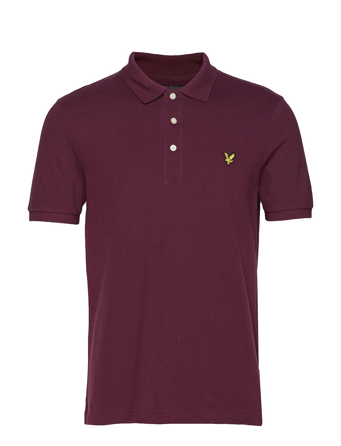 Lyle & Scott Polo Shirt - BURGUNDY