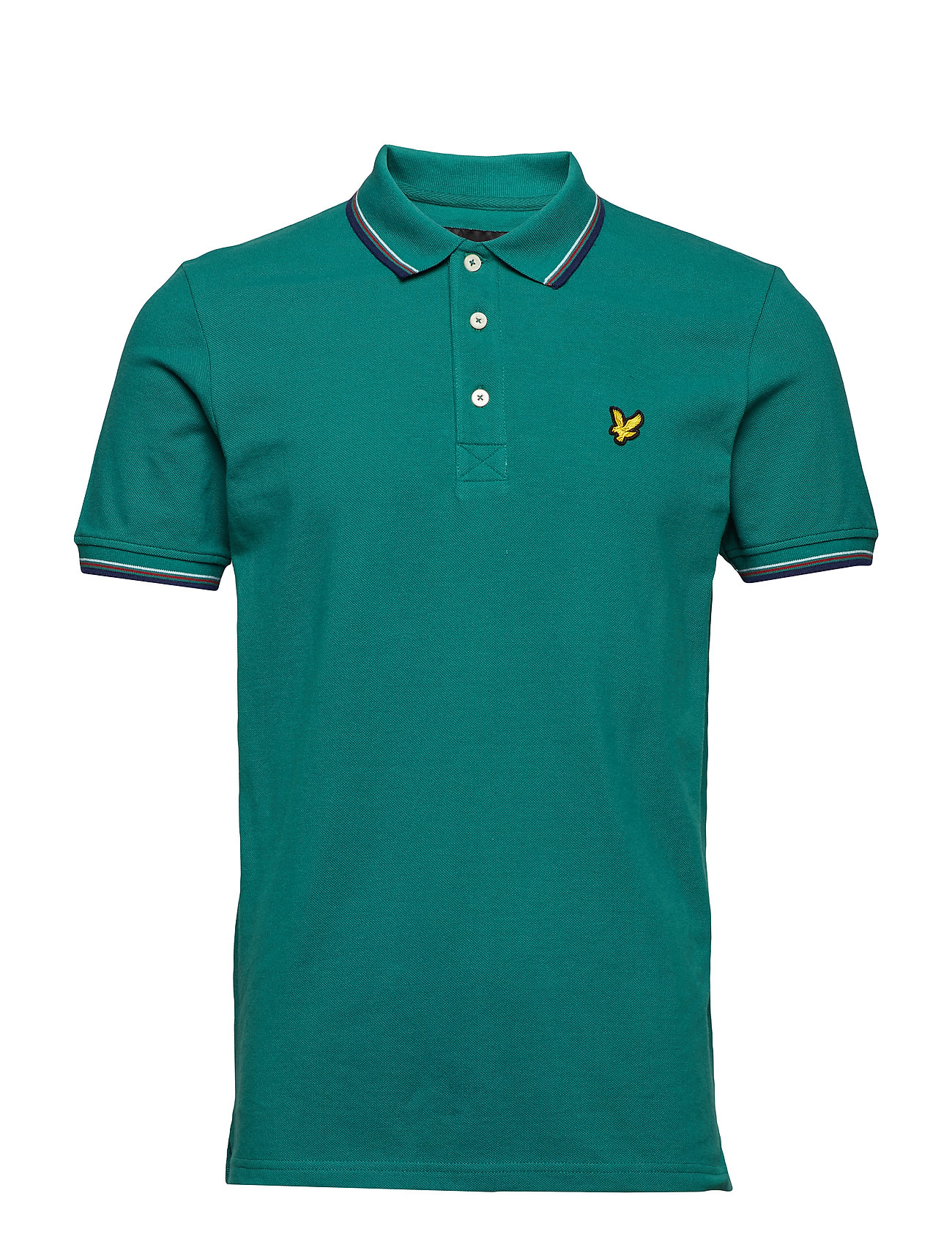 Lyle & Scott Tipped Polo Shirt Ögrönlar