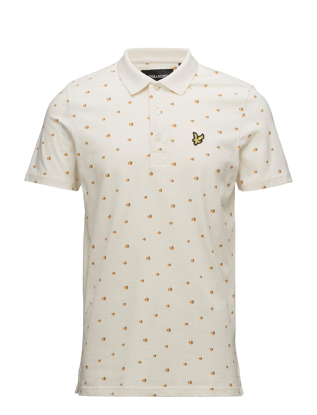 Lyle & Scott Beachball Print Polo Shirt