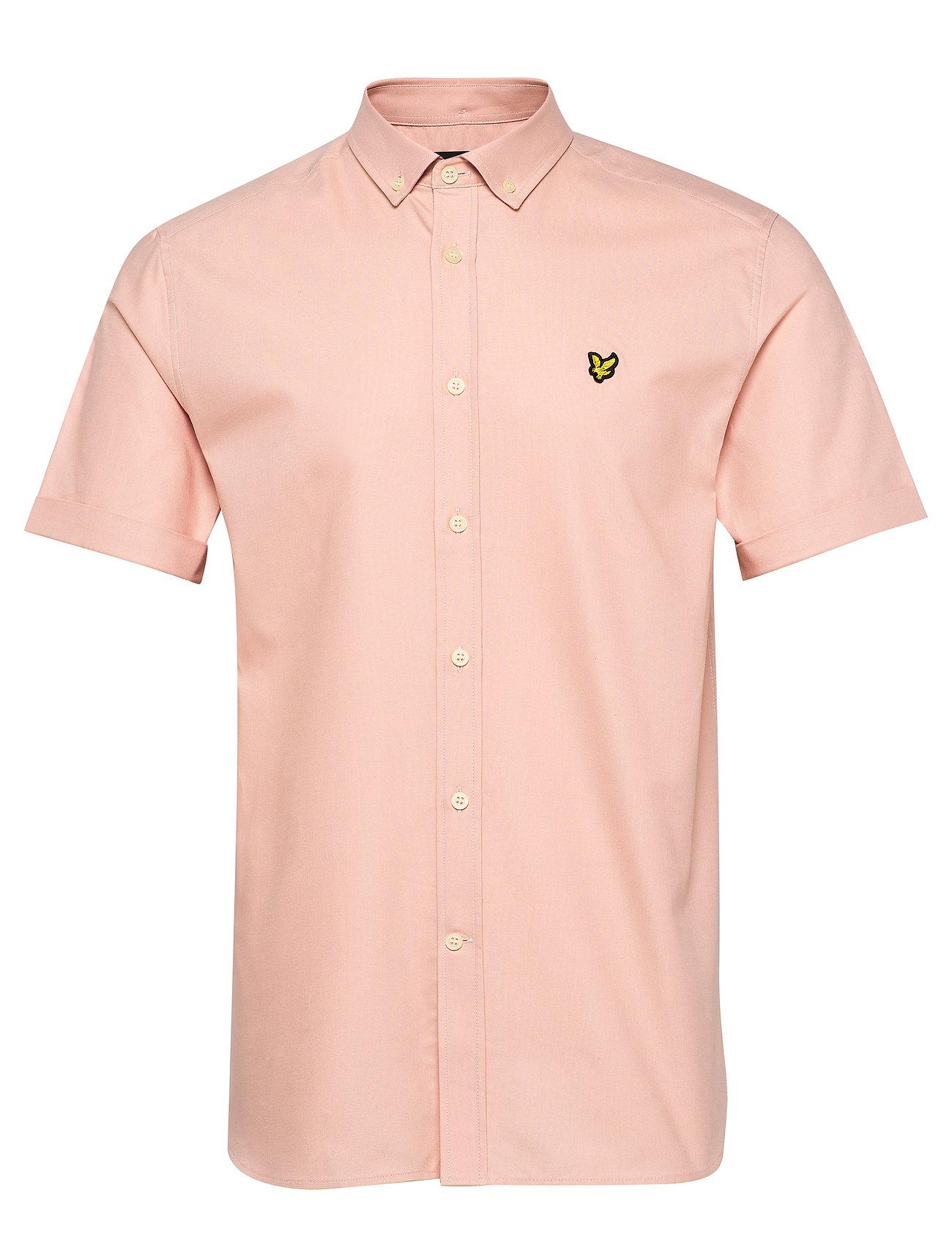 Lyle & Scott SS Oxford Shirt - DUSTY PINK