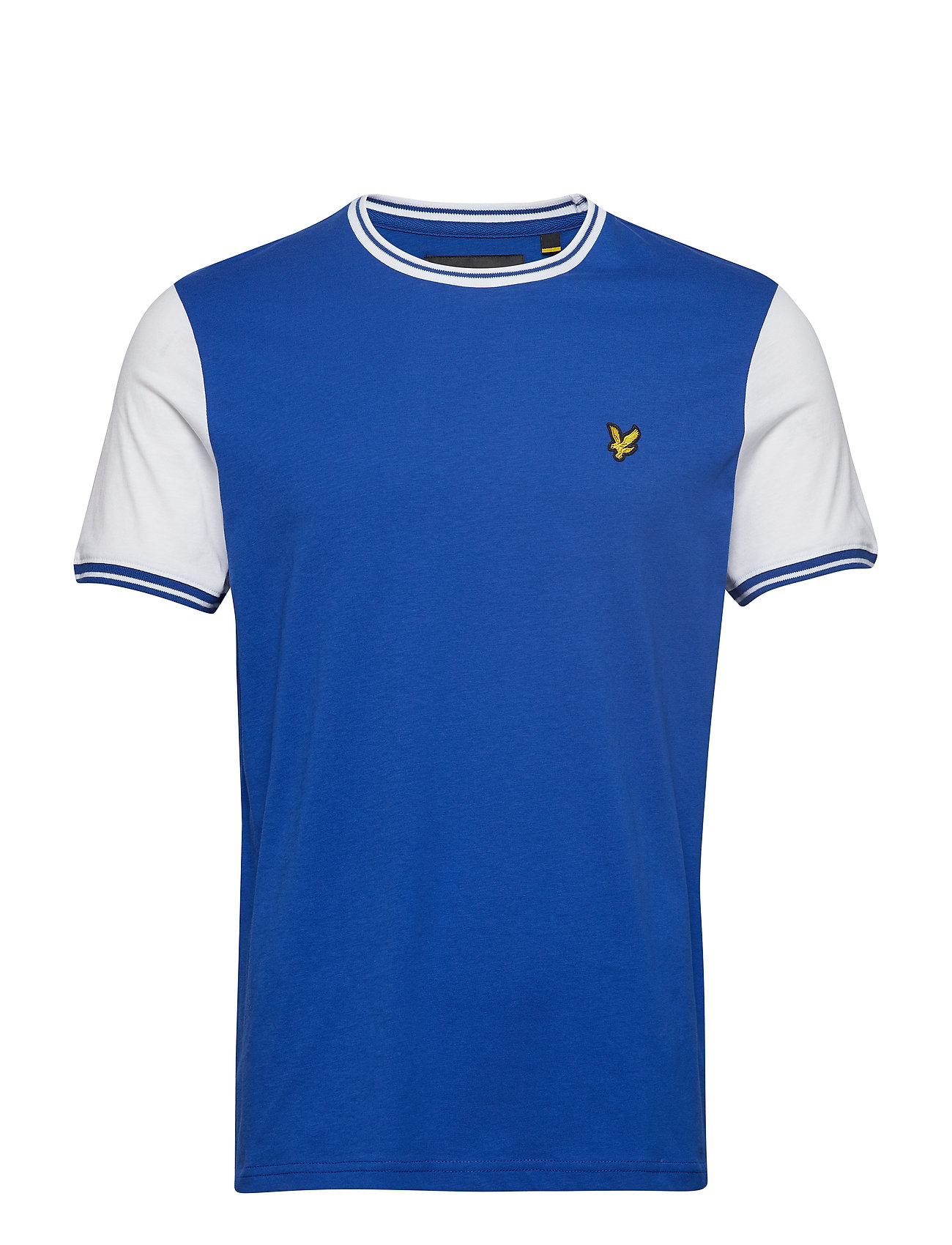 Lyle & Scott Tipped T-Shirt - DUKE BLUE/WHITE