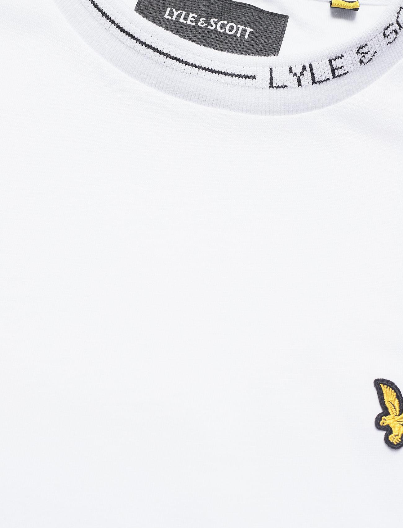 Lyle & Scott Branded Ringer Tshirt - T-skjorter WHITE - Menn Klær