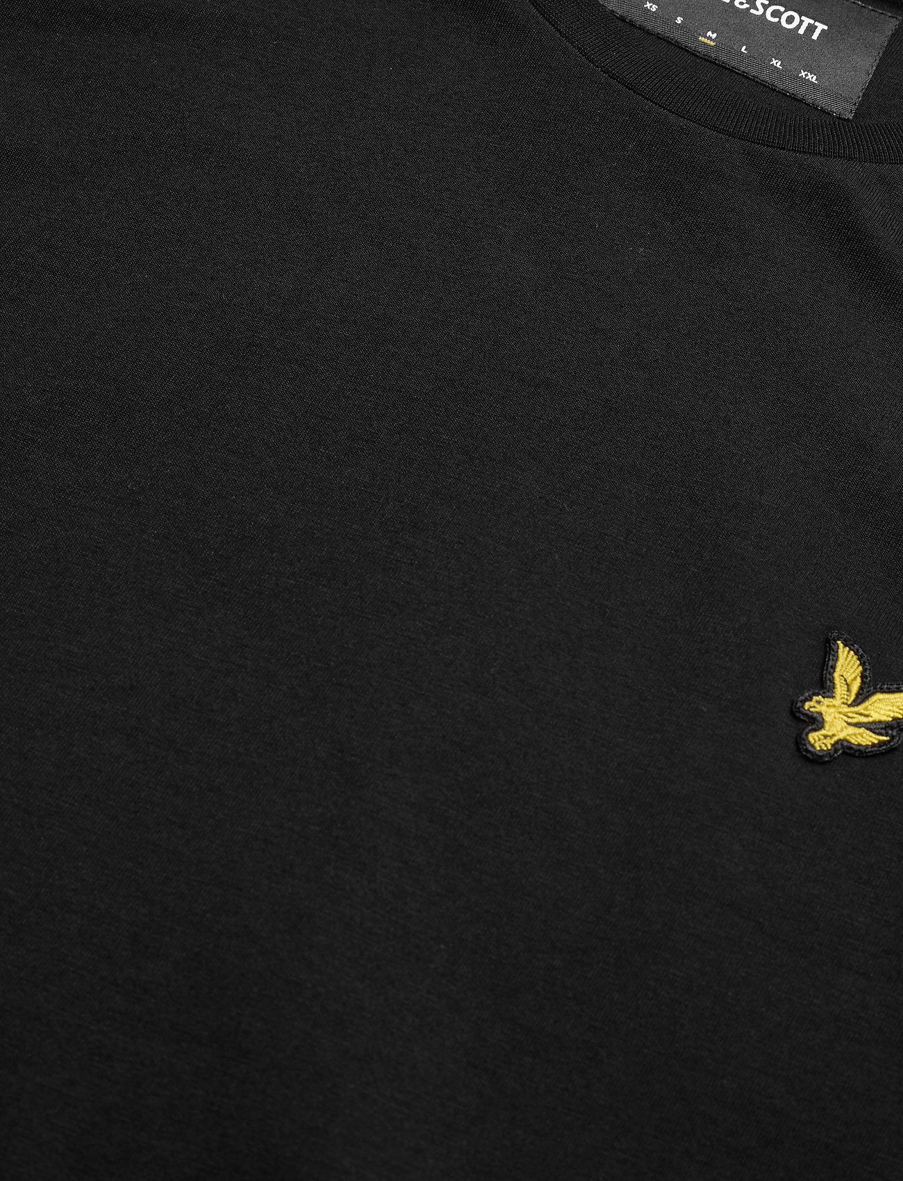 Lyle & Scott Crew Neck T-Shirt - T-skjorter JET BLACK - Menn Klær