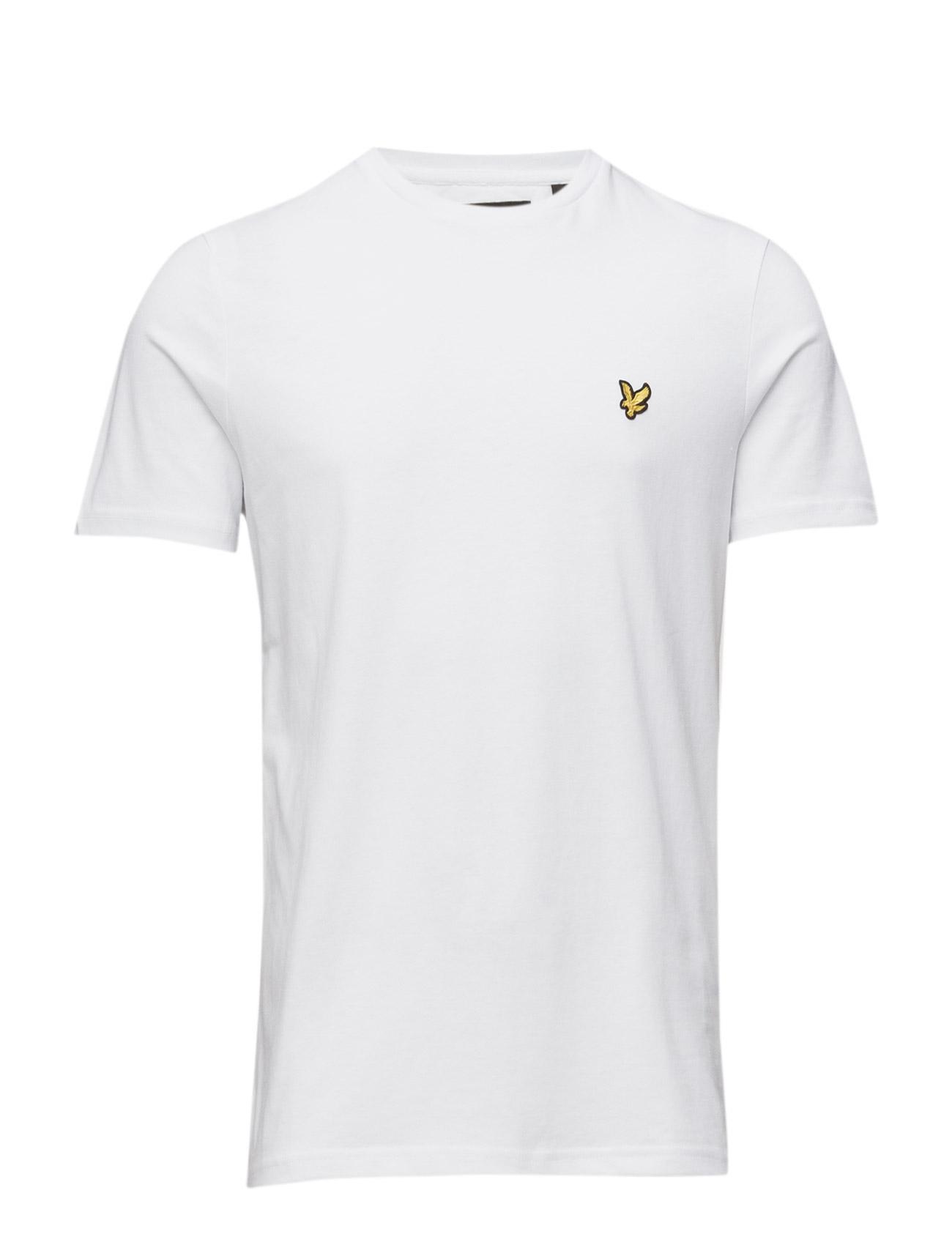 Lyle & Scott - Crew Neck T-Shirt - basic t-krekli - white - 1