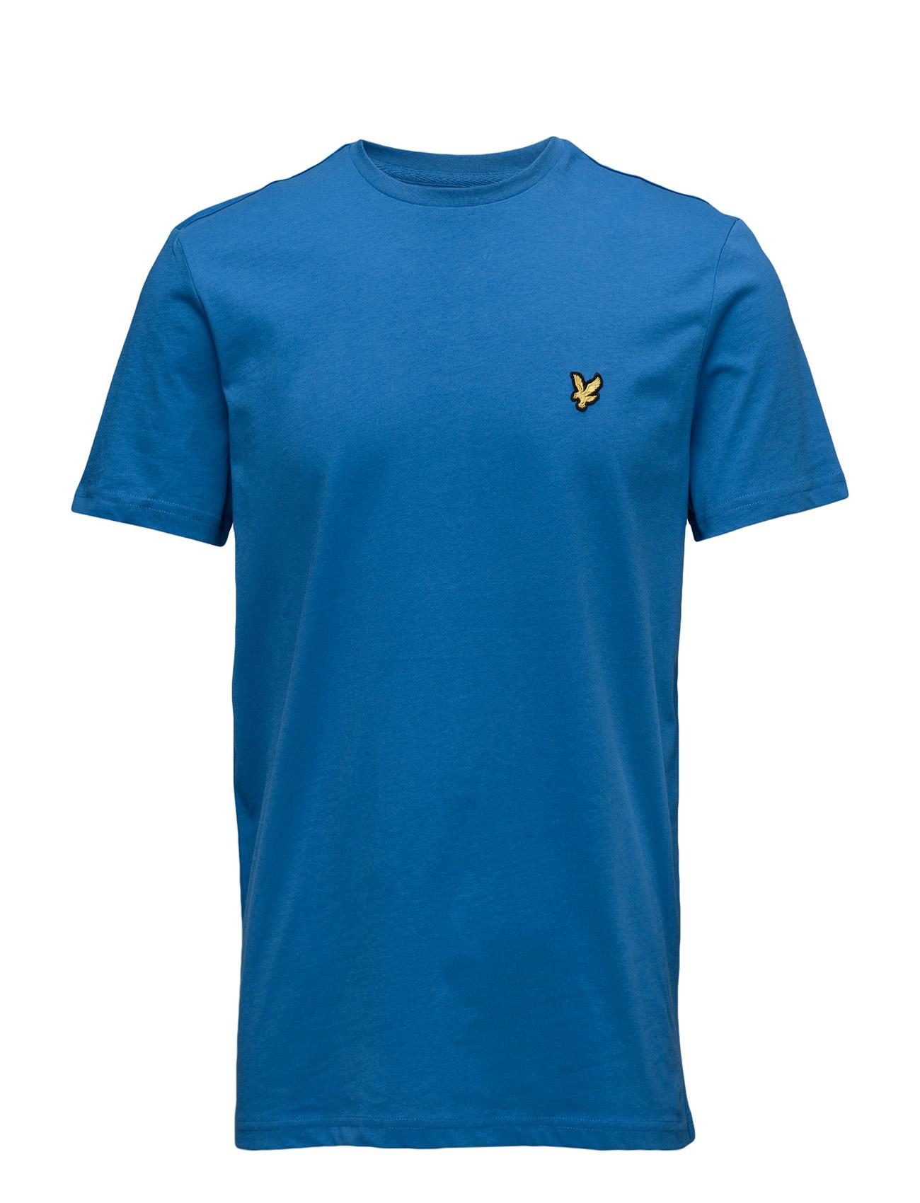 Lyle & Scott Crew Neck T-Shirt - LAKE BLUE