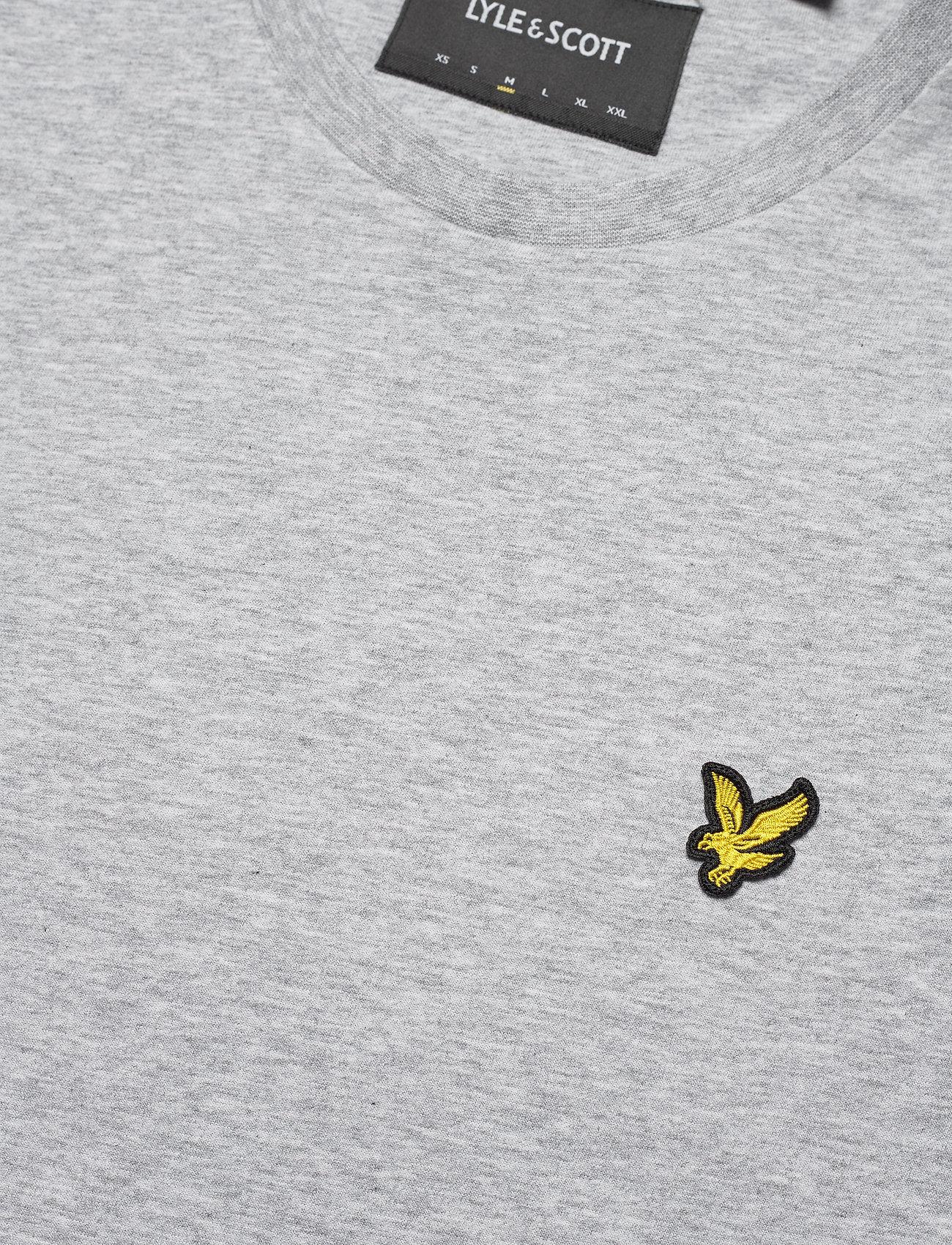 Lyle & Scott - Plain T-Shirt - podstawowe koszulki - light grey marl - 2