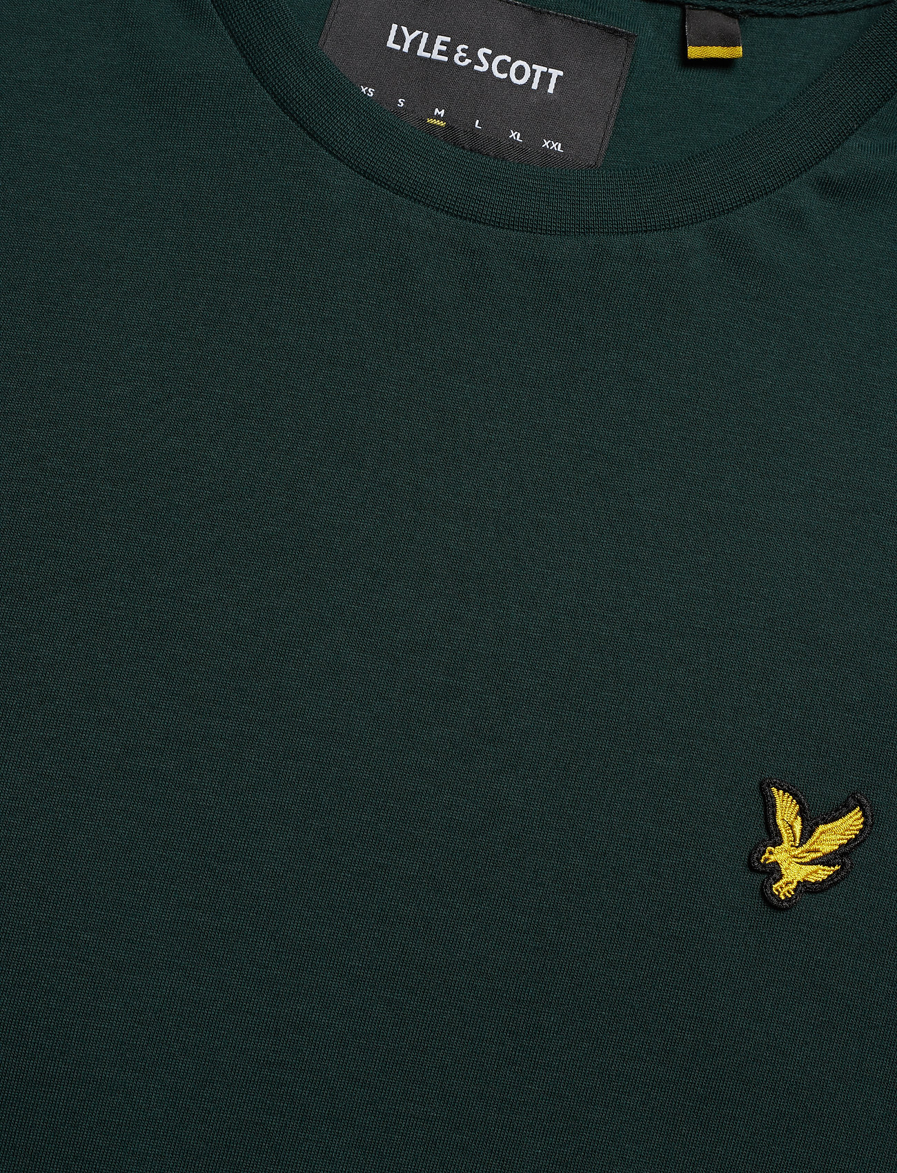 Lyle & Scott LS Crew Neck T-shirt - T-skjorter JADE GREEN - Menn Klær