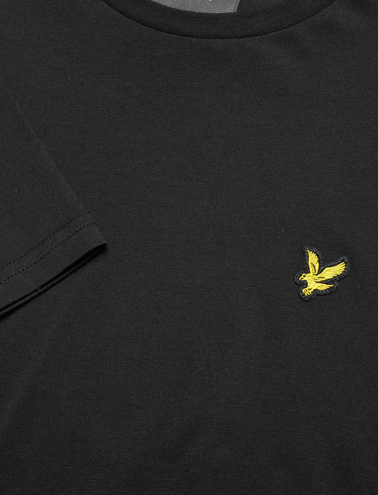 Lyle & Scott LS Crew Neck T-shirt - T-skjorter JET BLACK - Menn Klær