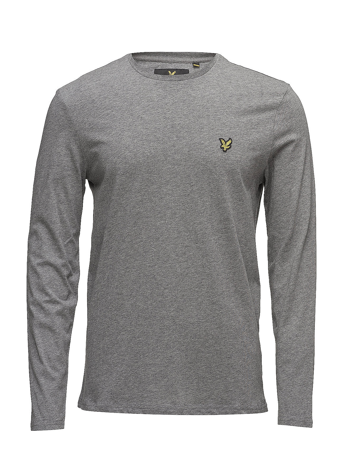 Lyle & Scott CREW NECK - T-shirts basic - white