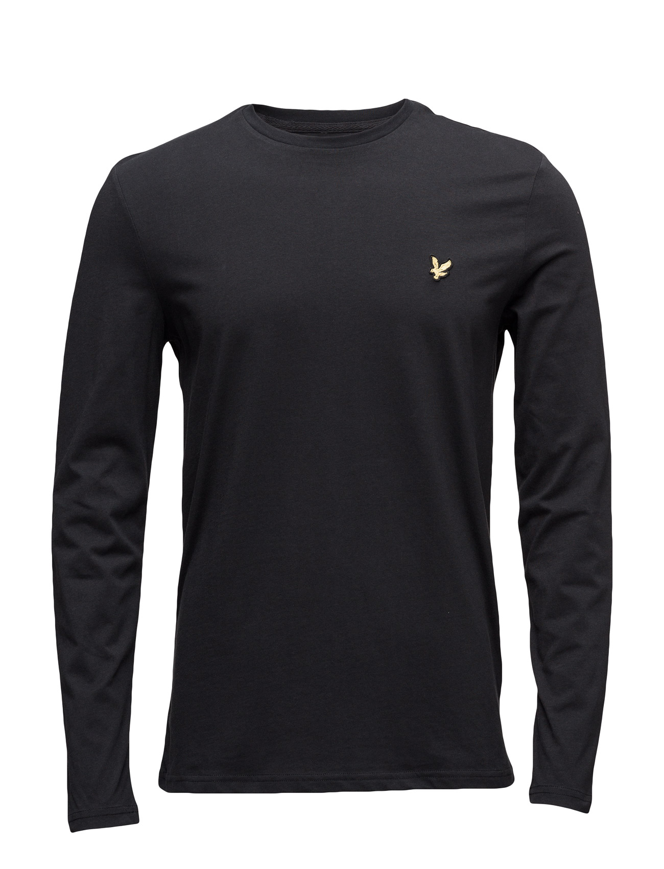 2b0e12e6 Ls Crew Neck T-shirt (True Black) (£35) - Lyle & Scott - T-Shirts ...