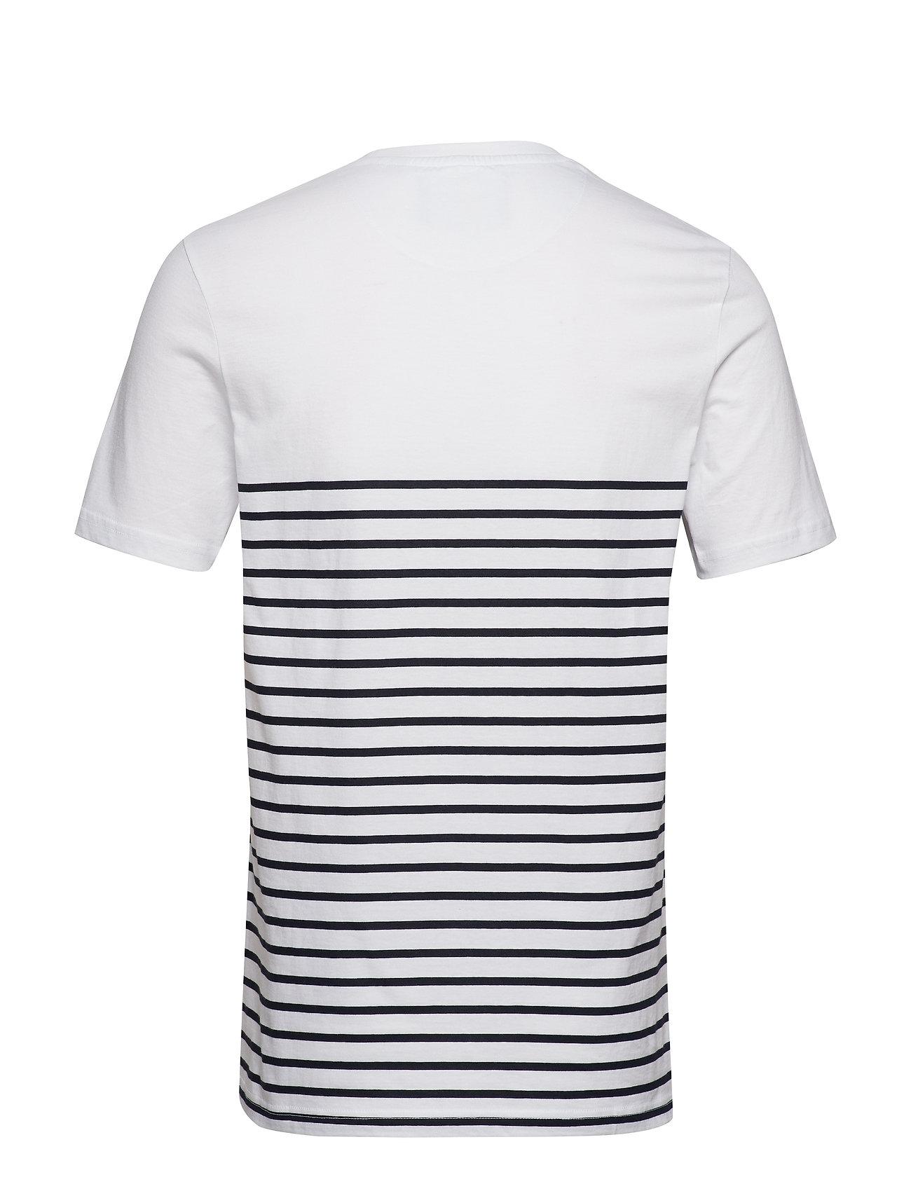 Stripe navyLyleamp; Scott T shirtwhite Breton Rc45j3qLA
