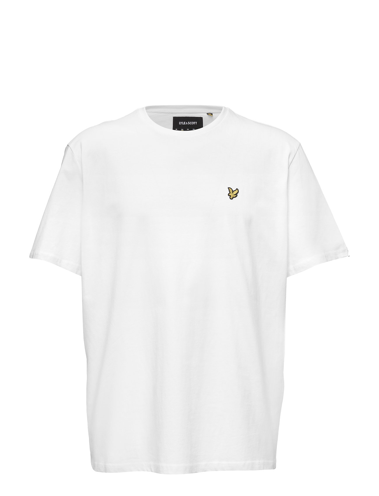 Lyle & Scott Crew Neck T-Shirt - WHITE